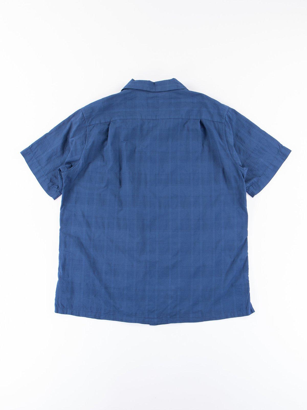 Navy Blue Open SS Shirt - Image 4