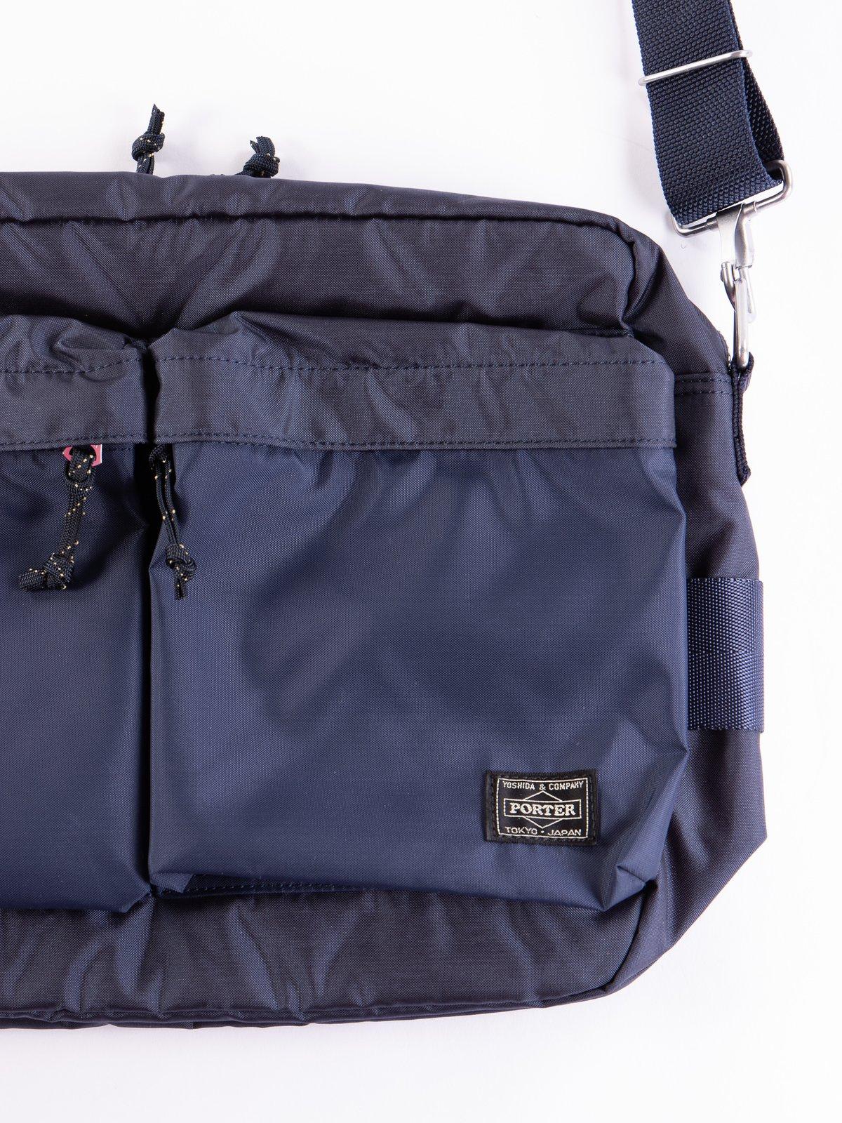 Navy Medium Force Shoulder Bag - Image 2