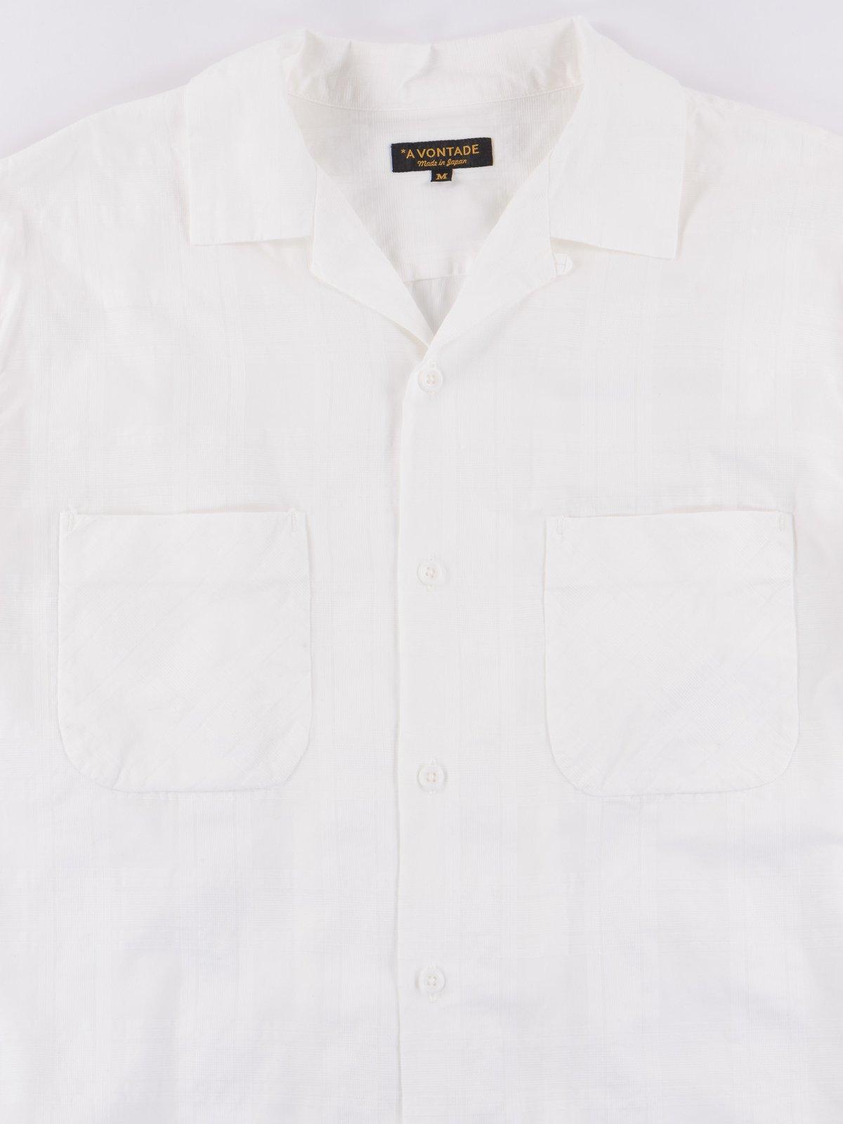 White Open SS Shirt - Image 2