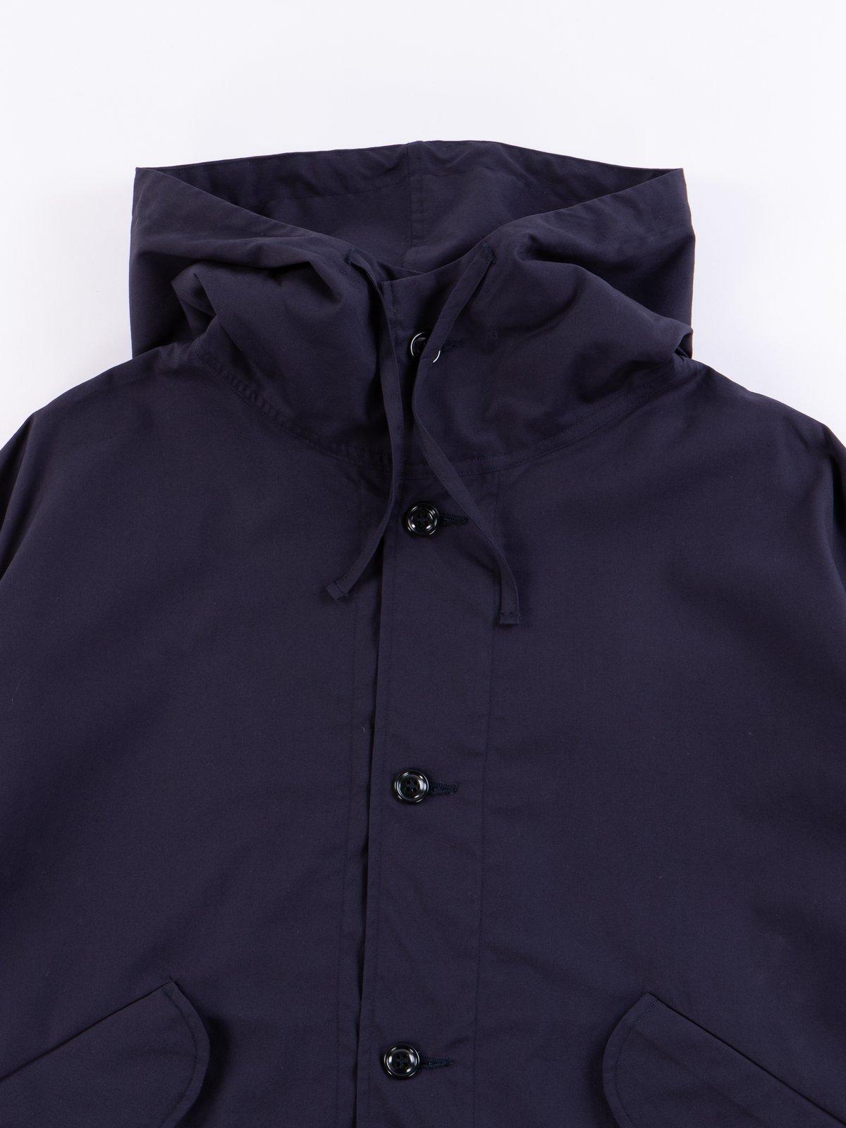 Navy Oxford Vancloth Czech Coat - Image 3