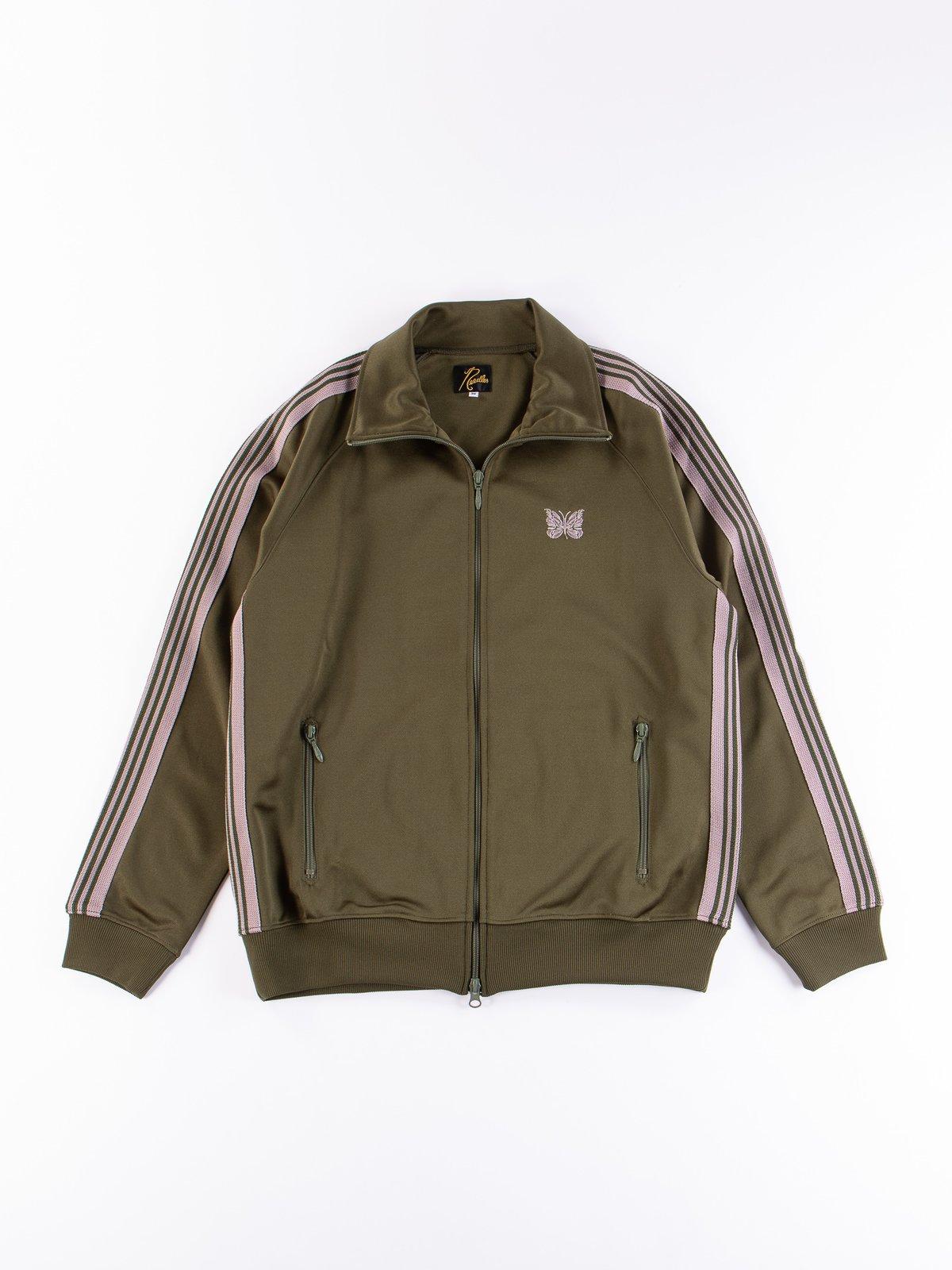 Olive Track Jacket - Image 1
