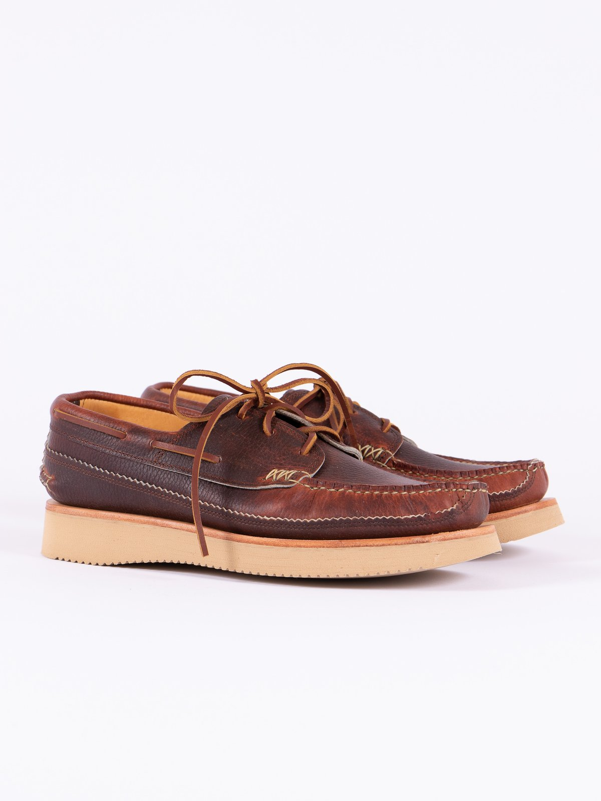 Chromepak Brown Boat Shoe Exclusive - Image 1