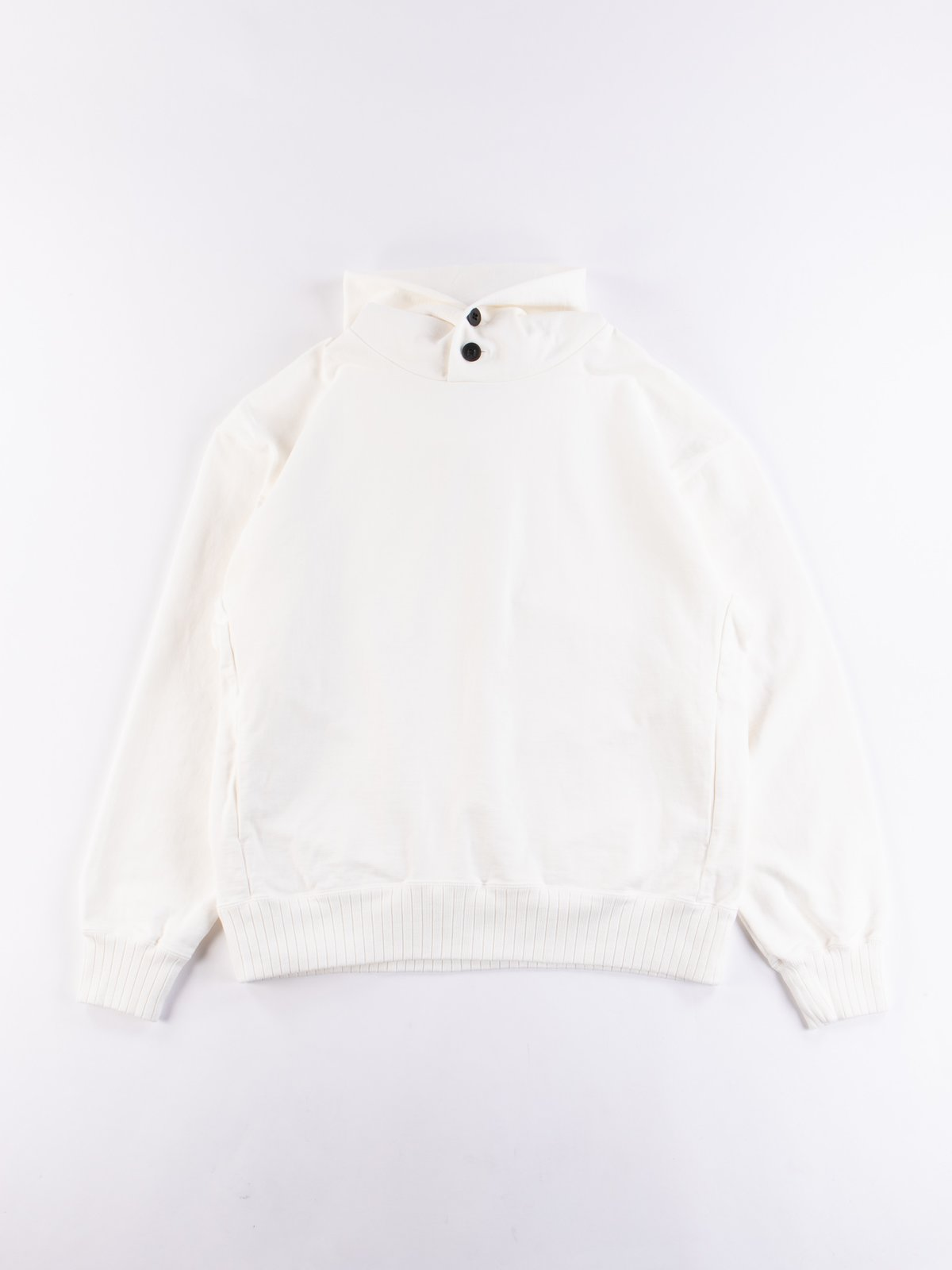 Off White High Density Sweat Pullover Parka - Image 1
