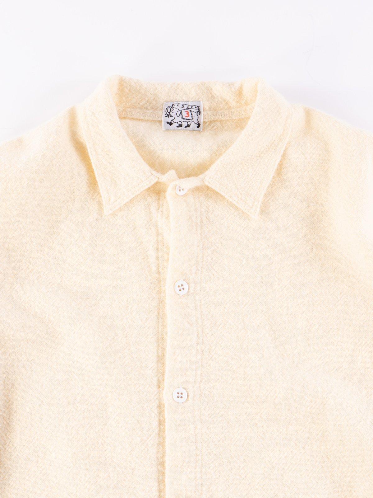 Cream Weavers Stock Tail Shirt - Image 3