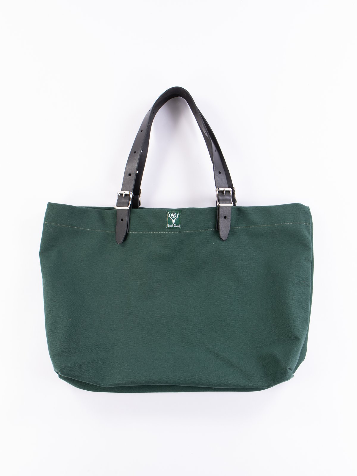 Hunter Green 18oz Canvas Canal Park Tote - Image 1