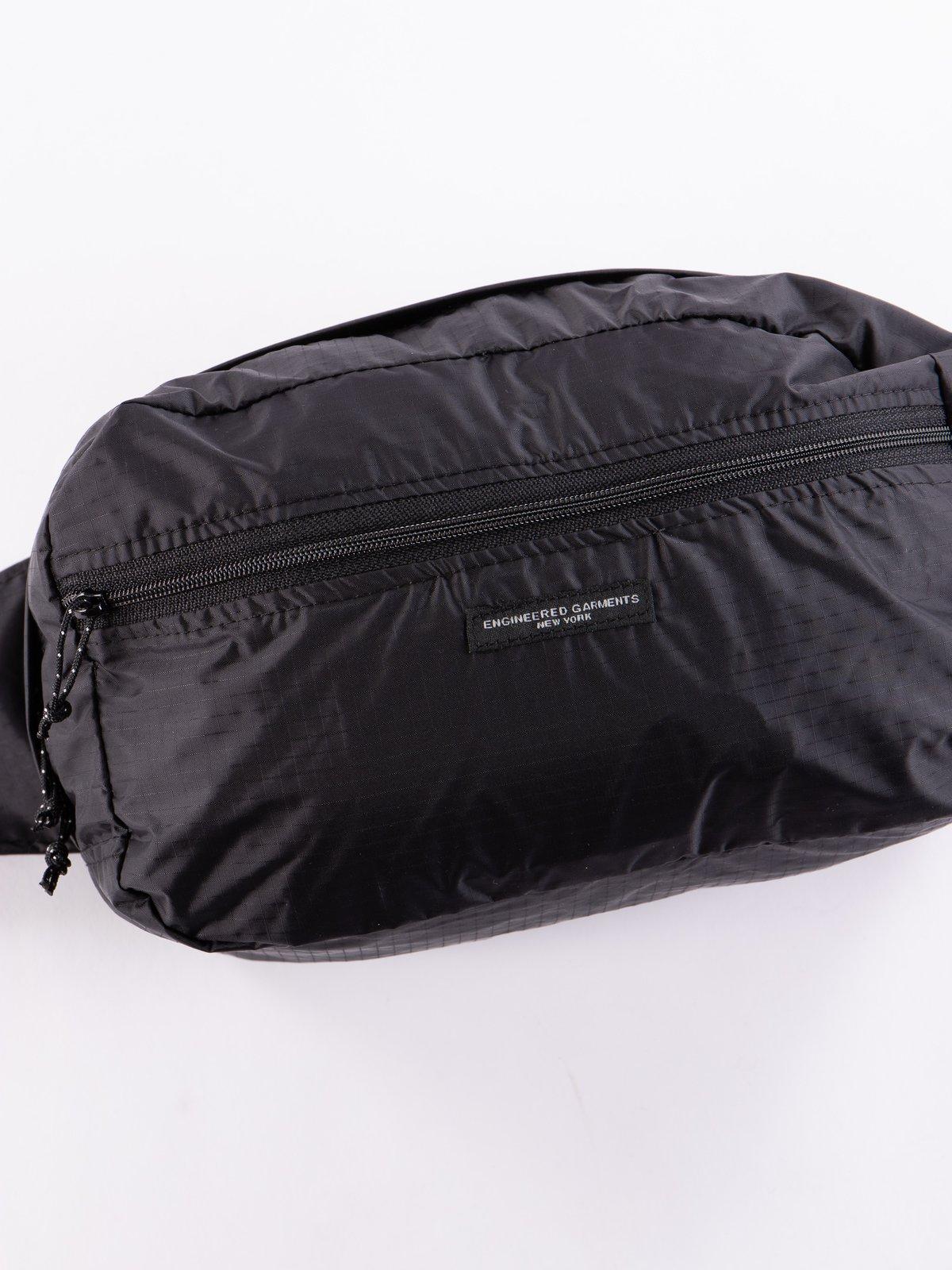 Black Nylon Ripstop UL Waistpack - Image 2