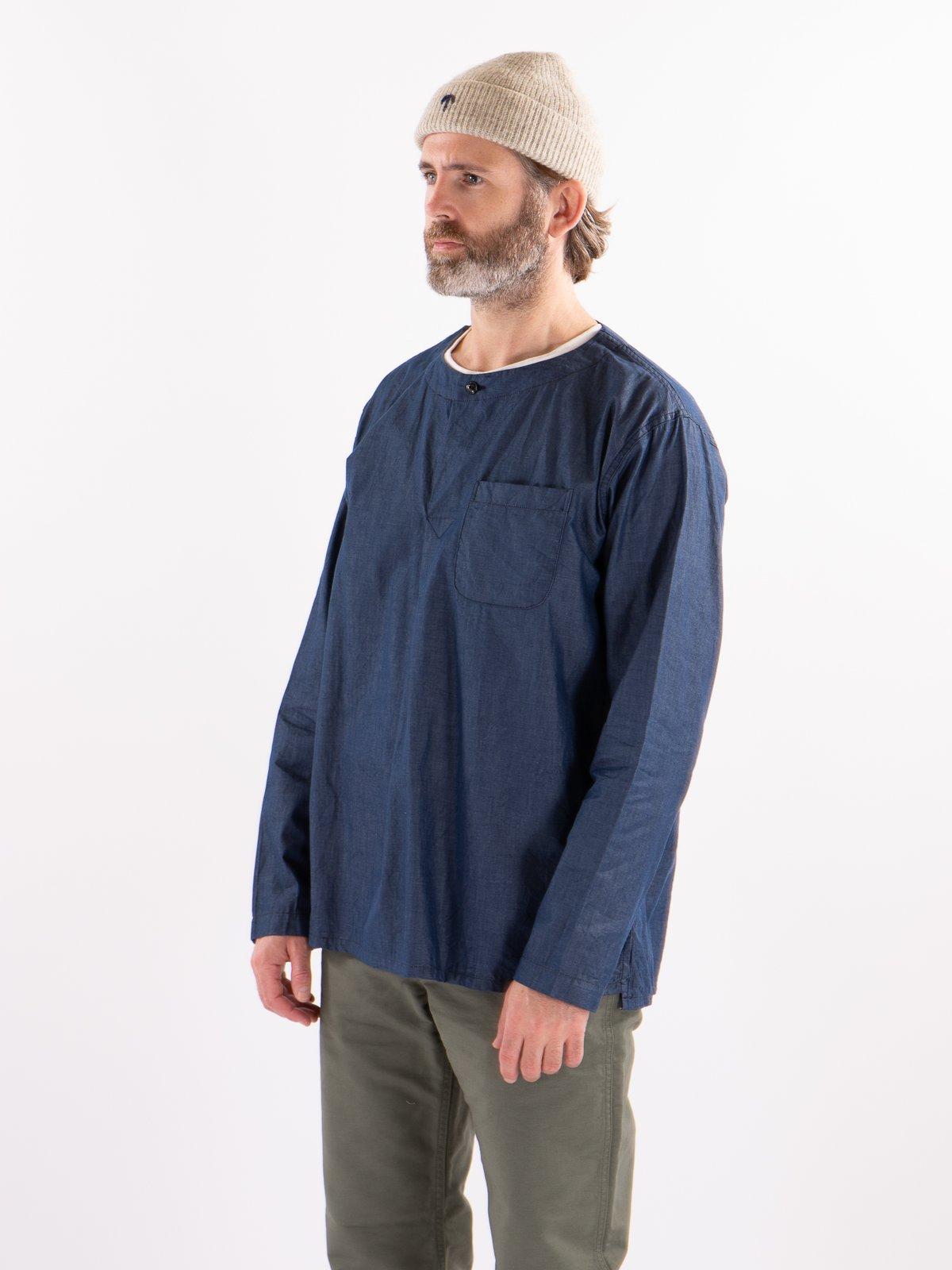 Navy Light Weight Denim MED Shirt - Image 2