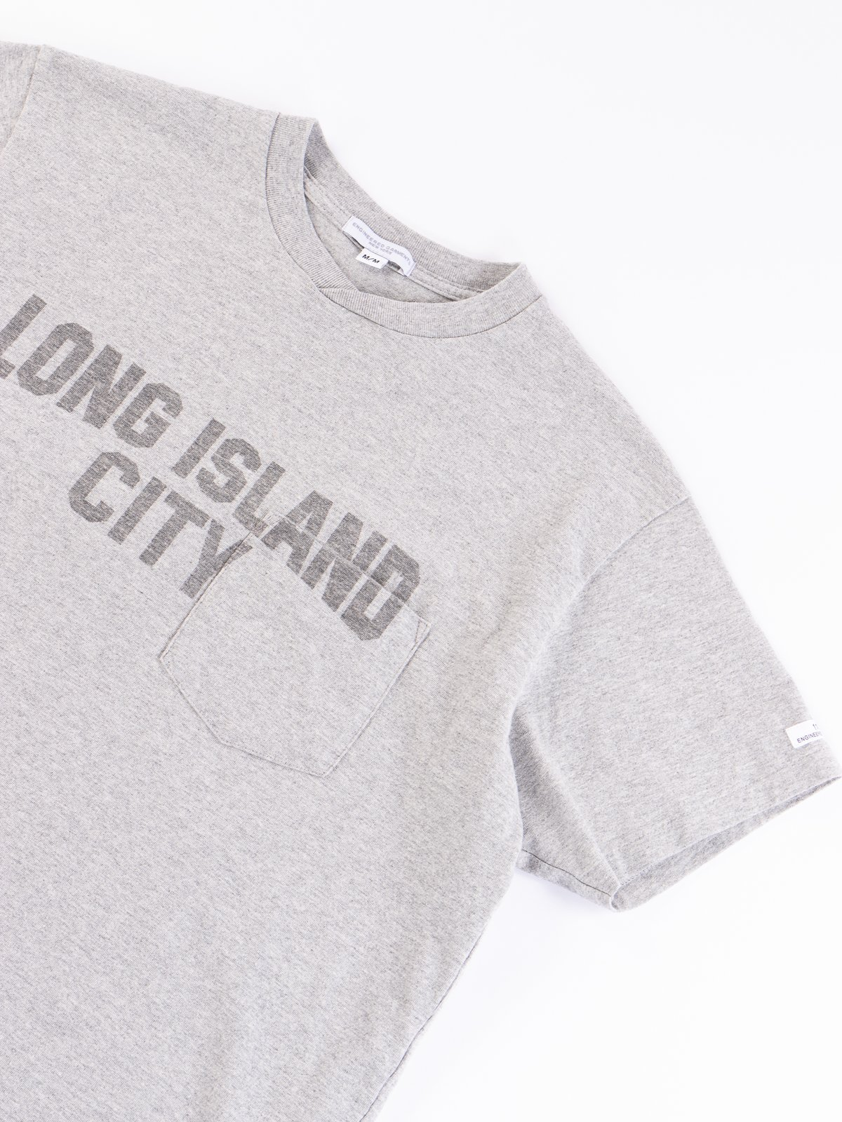 Grey Long Island City Printed T–Shirt - Image 4