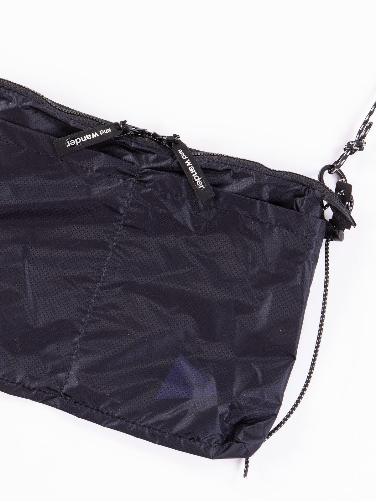 Navy Sil Sacoche Bag - Image 2