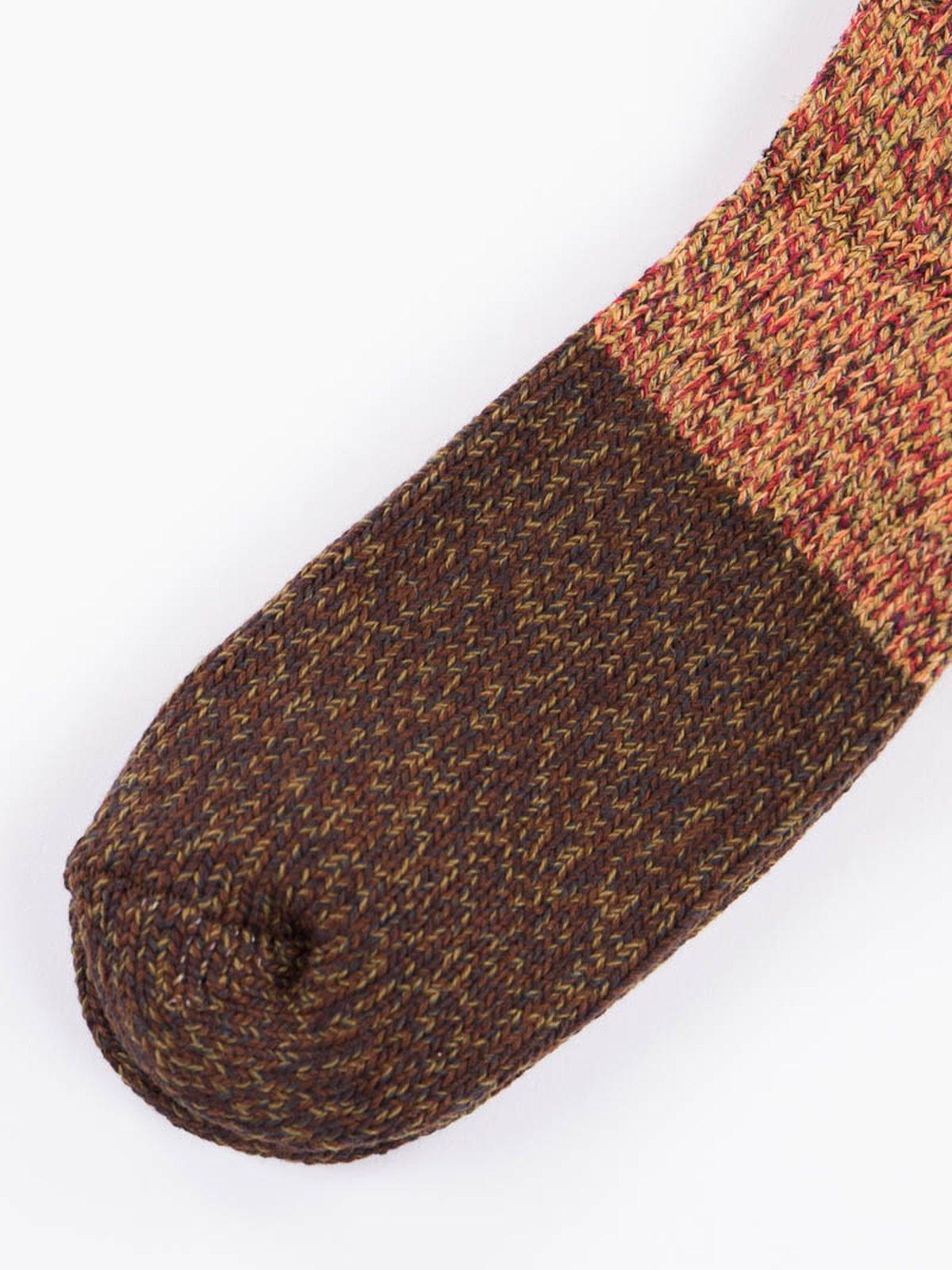 Green Van Gogh Wool Socks - Image 3