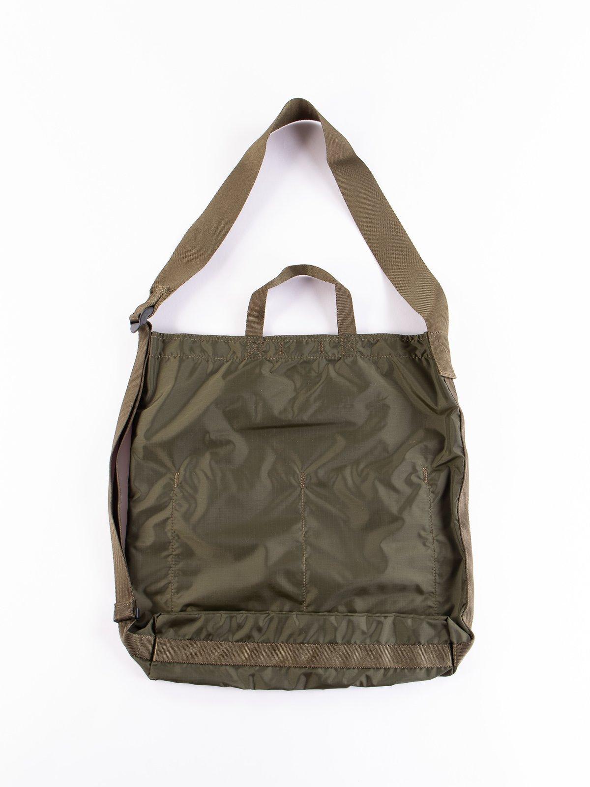 Olive Drab Flex 2Way Shoulder Bag - Image 4