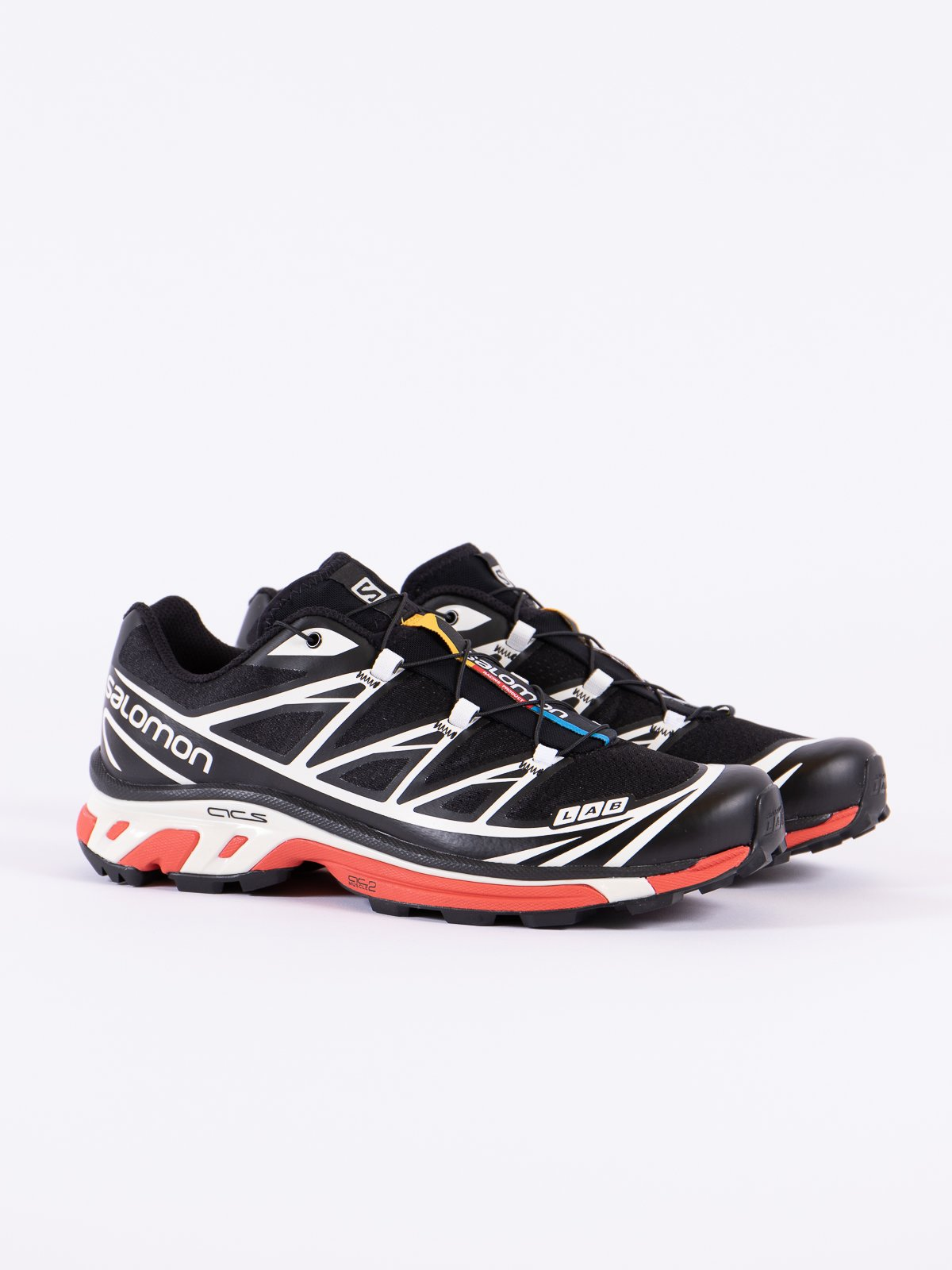 BLACK/VANILLA/RACING RED XT–6 SOFTGROUND LT ADV - Image 1