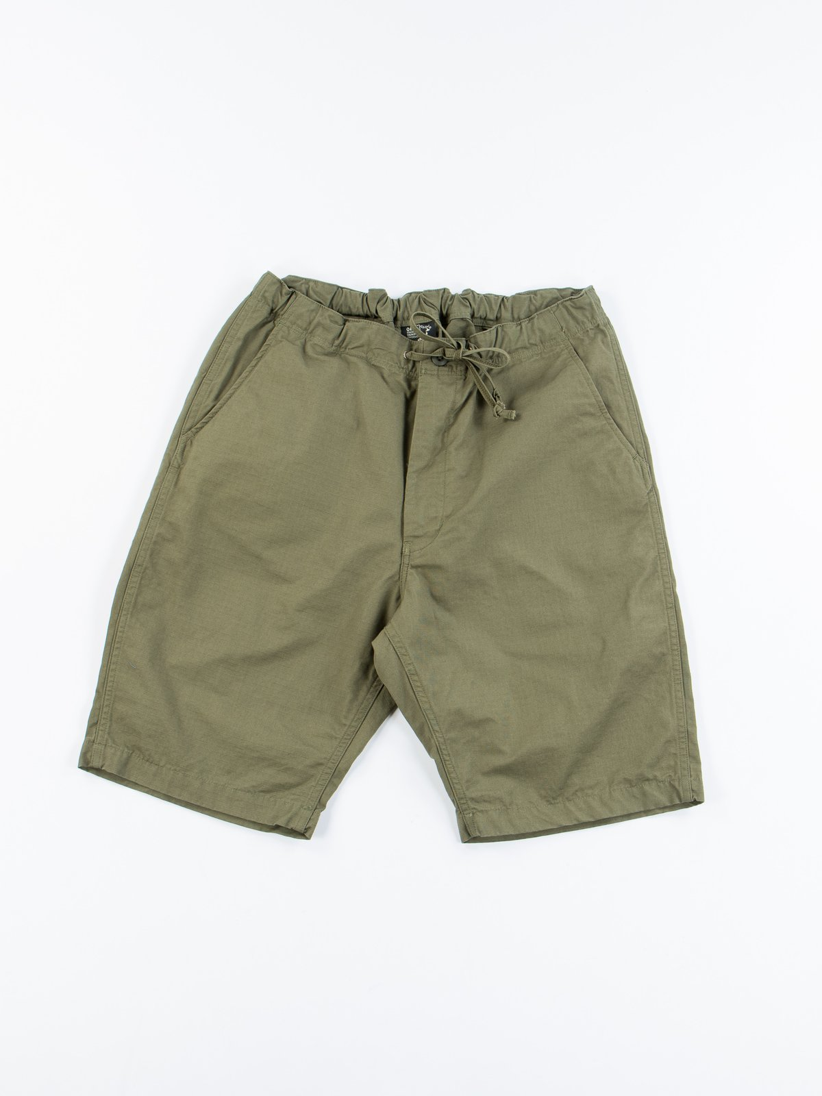 Army Green Ripstop New Yorker Short - Image 1