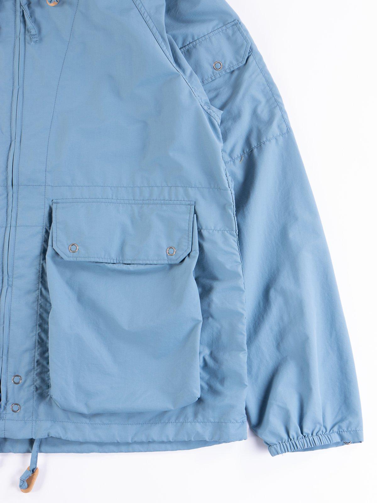 Light Blue Acrylic Coated Nylon Taffeta Atlantic Parka - Image 4