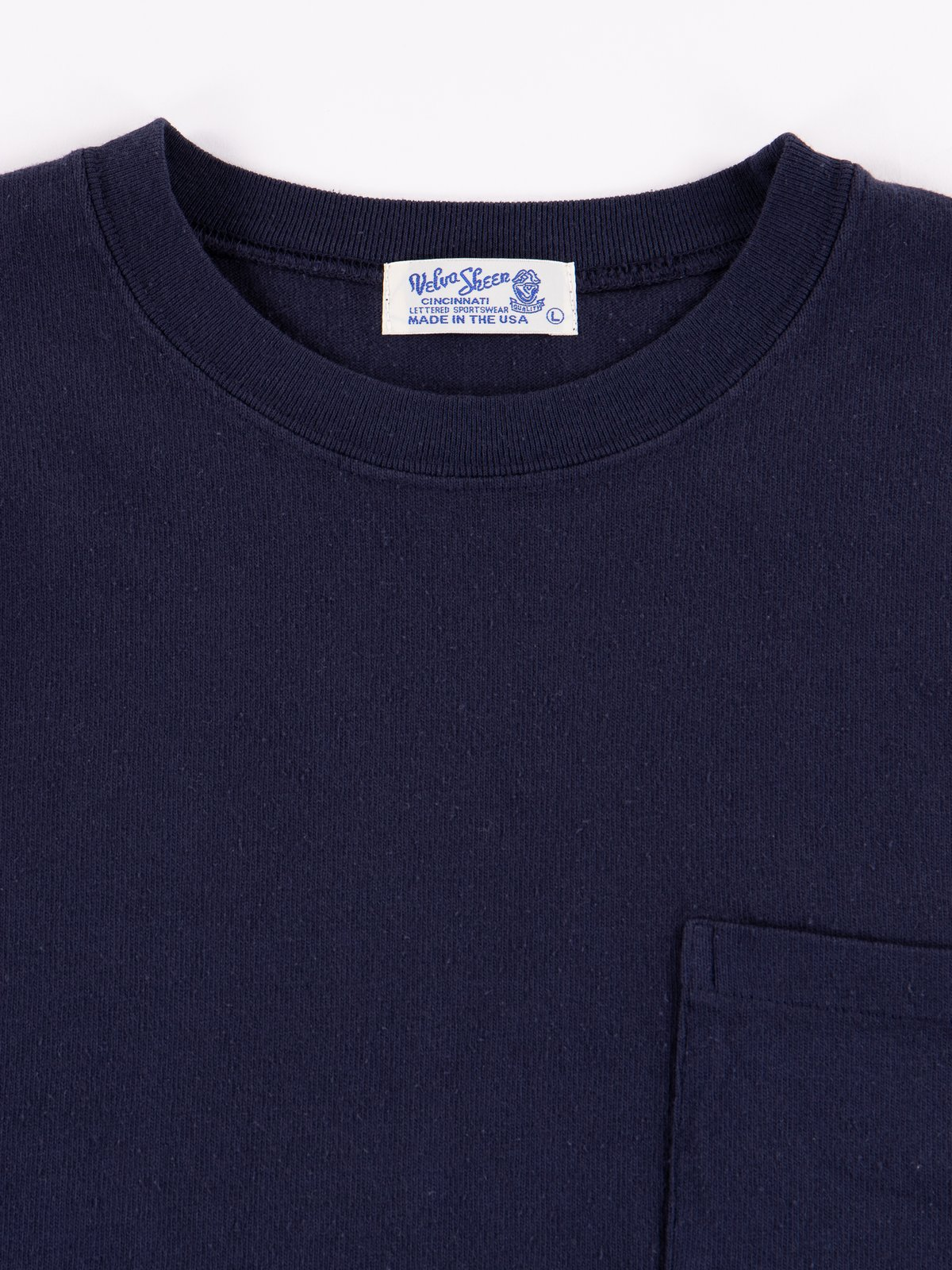 Navy Heavy Oz Pocket Tee - Image 2