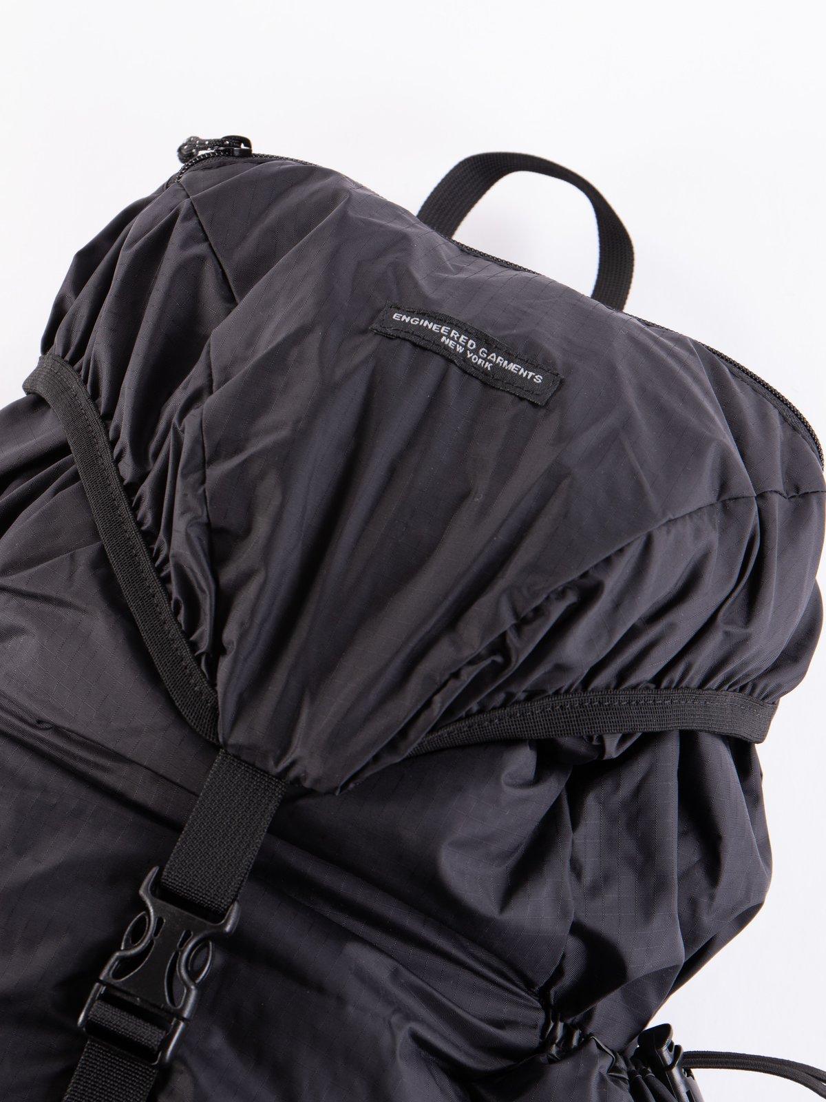 Black Nylon Ripstop UL Backpack - Image 2