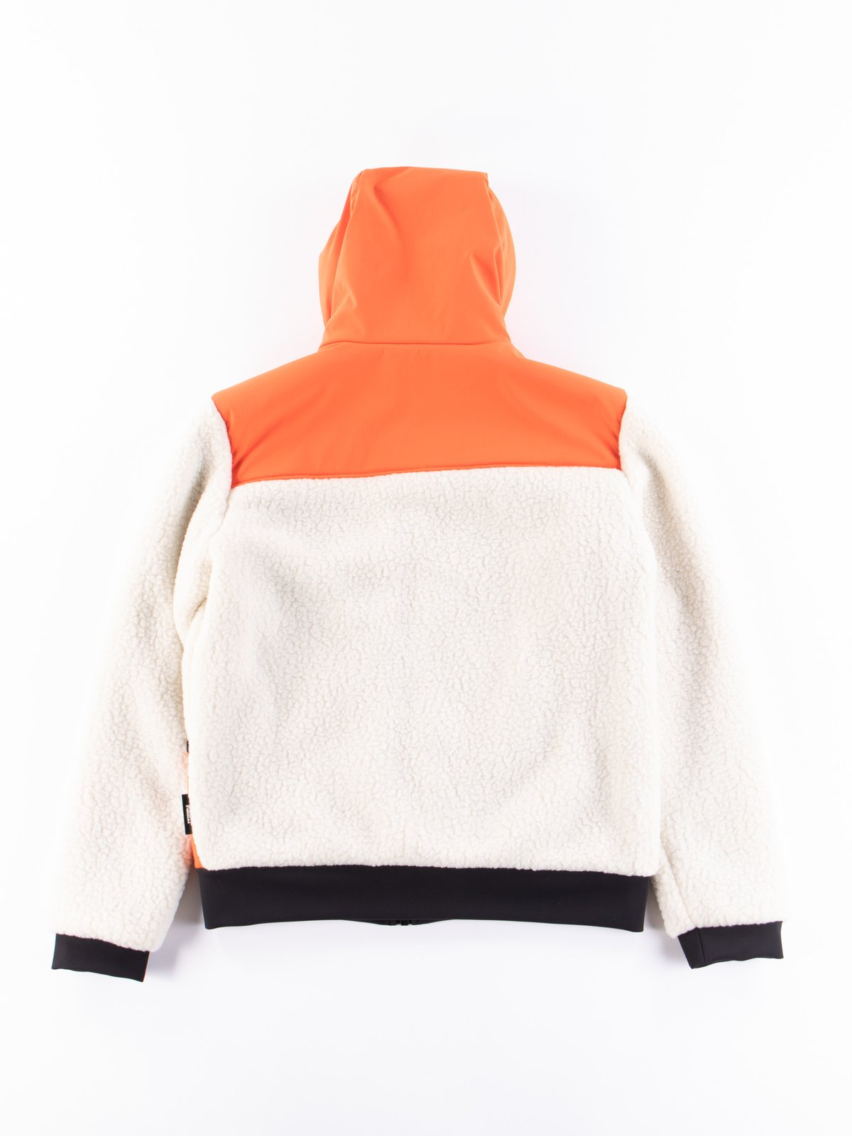 Orange Reversible Hooded Jogger - Image 8