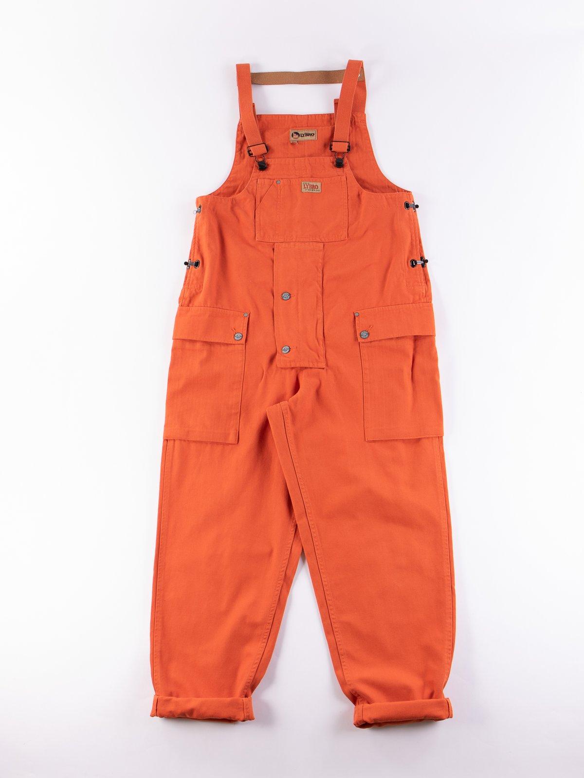 Lybro Vintage Orange Naval Dungaree - Image 1