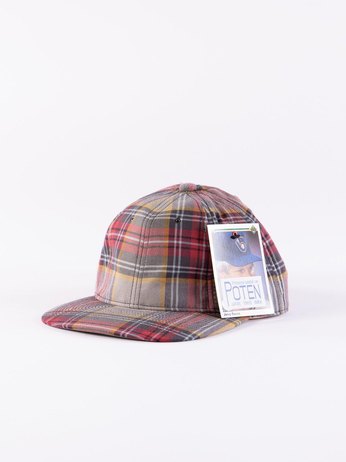 Grey Japanese Flannel Cap - Image 1