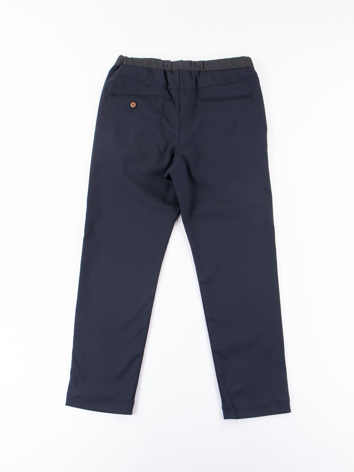 Dark Navy Slim Easy Slacks - Image 4