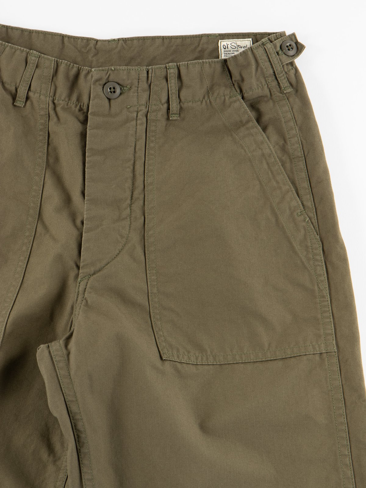 Army Green Ripstop Regular Fit US Army Fatigue Pant - Image 5