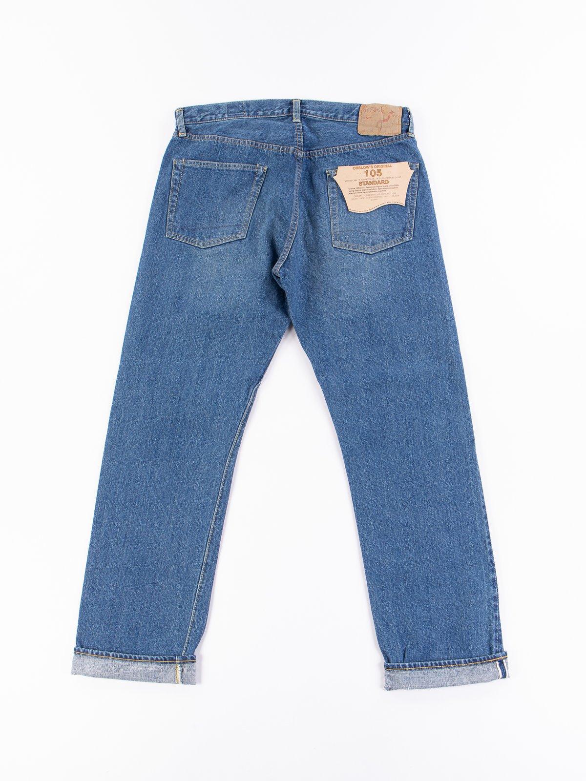 2 Year Wash 105 Standard 5 Pocket Jean - Image 7
