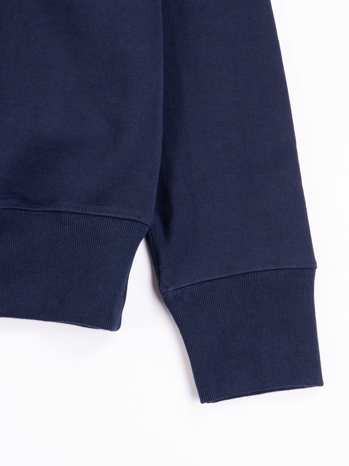 Ink Blue 3S48 Organic Cotton Heavy Sweater - Image 4