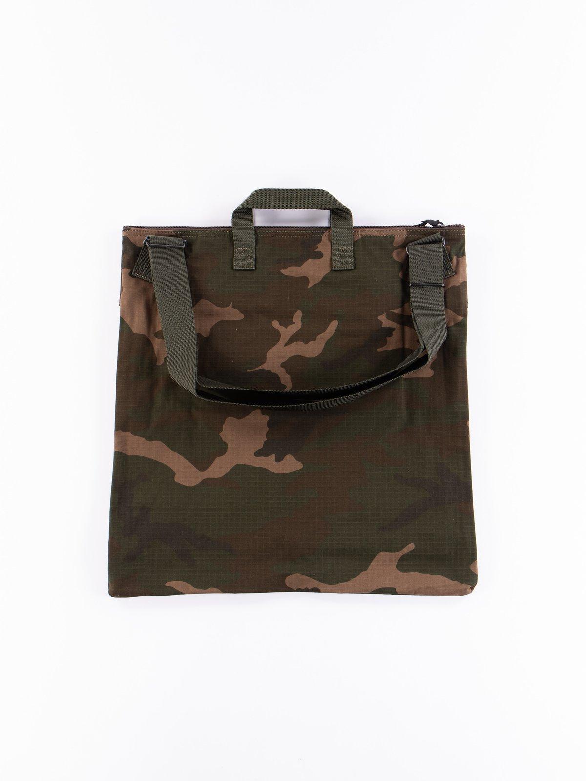 Woodland Olive Platoon 2Way Helmet Bag - Image 3