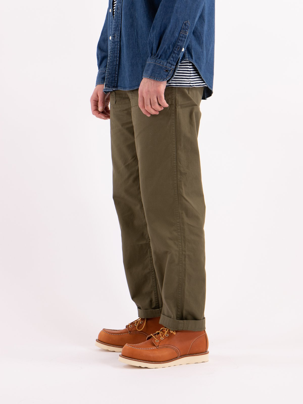 Army Green Ripstop Regular Fit US Army Fatigue Pant - Image 3