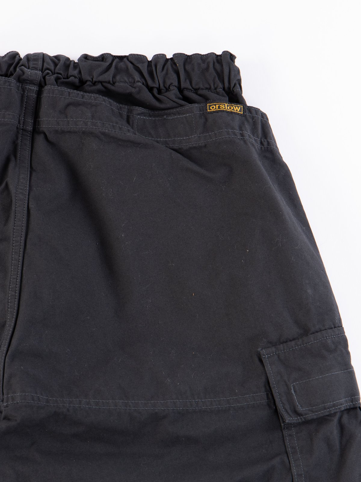 Grey Weather Cloth Easy Cargo Pant - Image 8