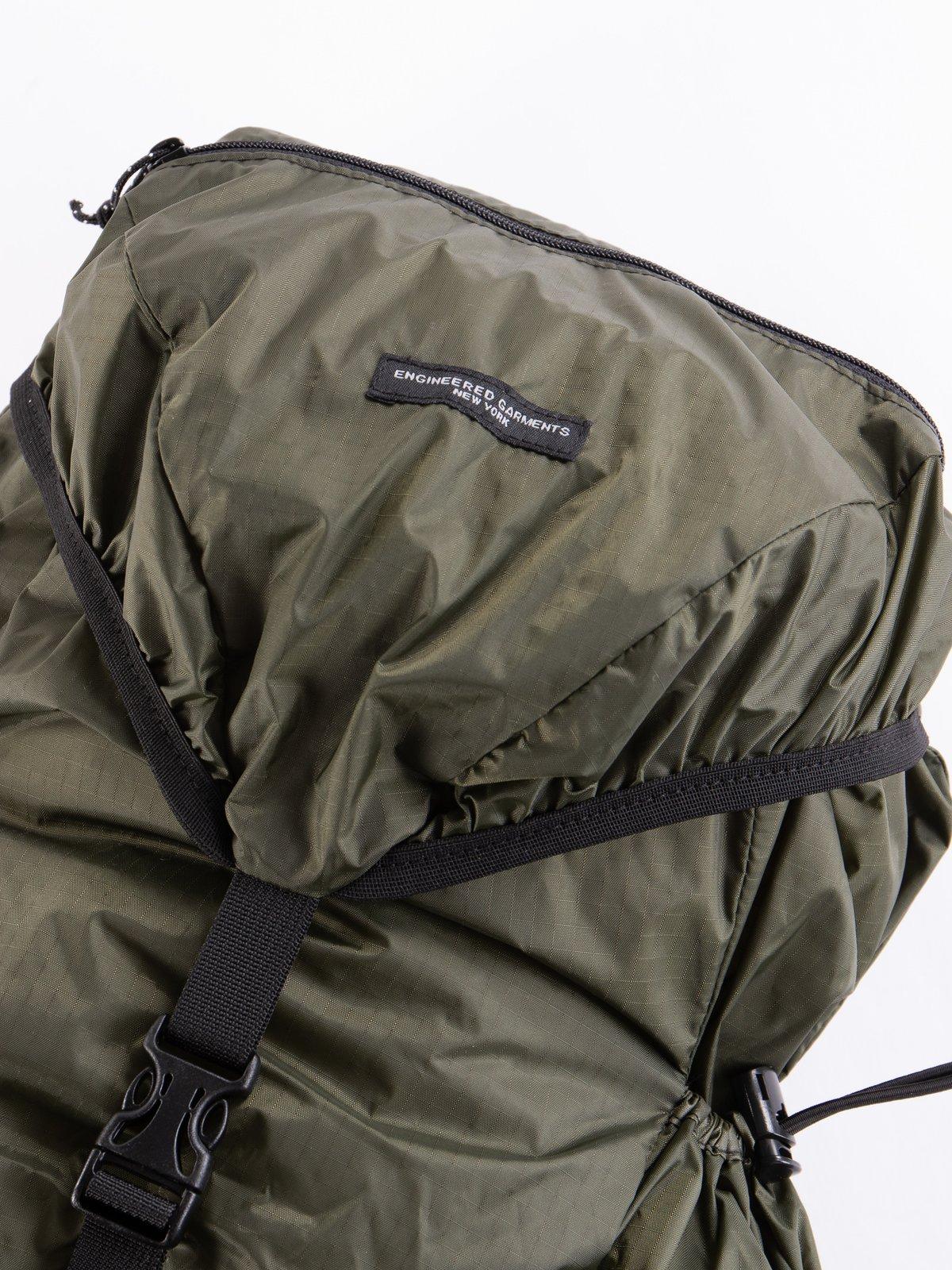 Olive Nylon Ripstop UL Backpack - Image 2