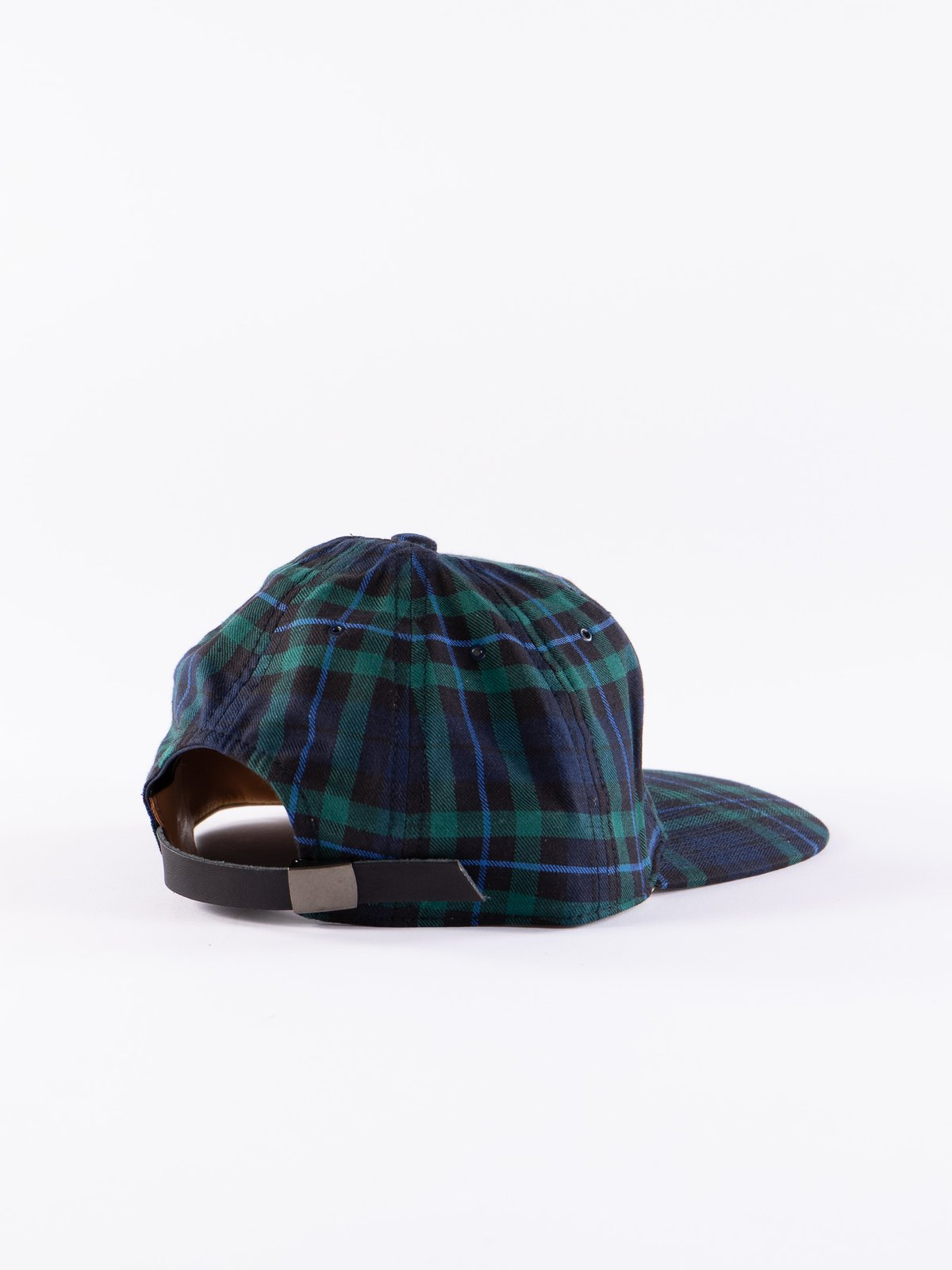 Navy Japanese Flannel Cap - Image 2
