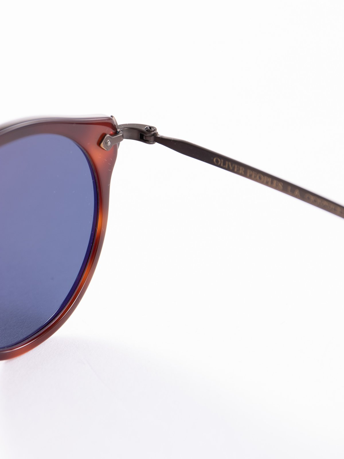 Dark Mahogany–Bronze–Blue OP–505 Sunglasses - Image 4