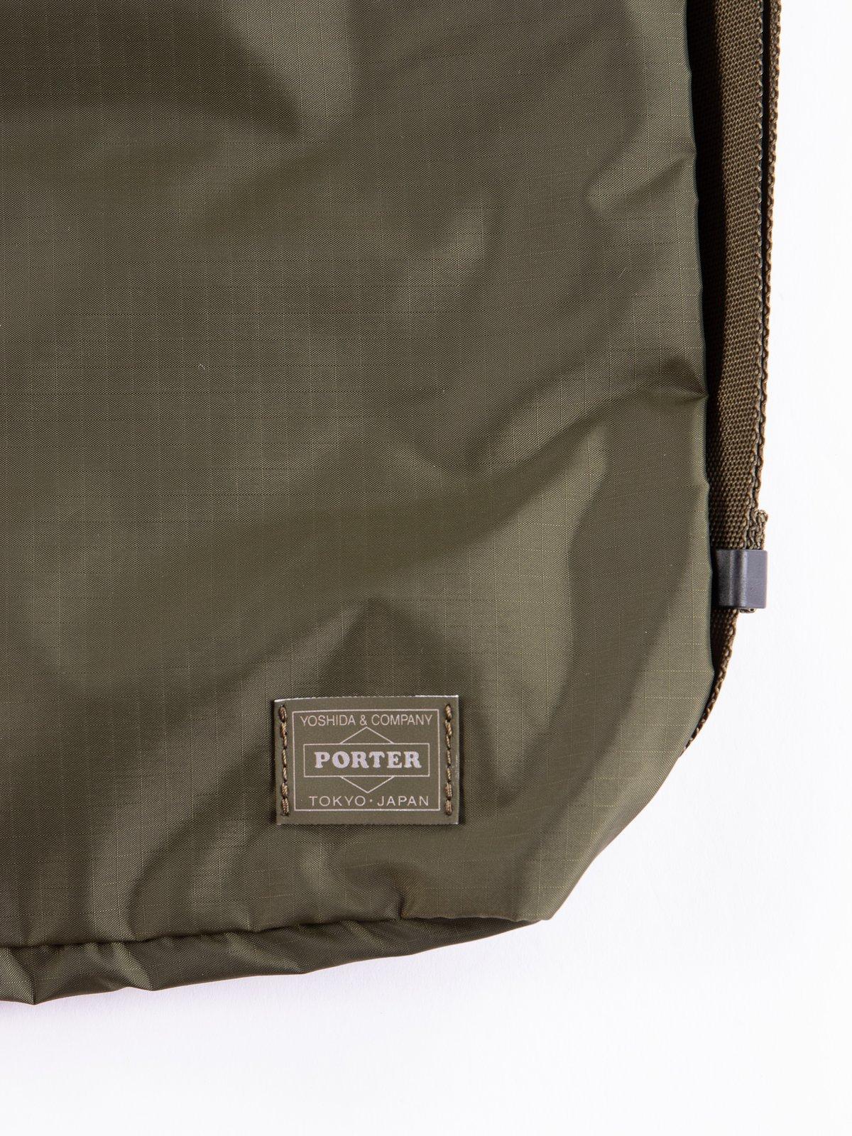 Olive Drab Flex 2Way Shoulder Bag - Image 2
