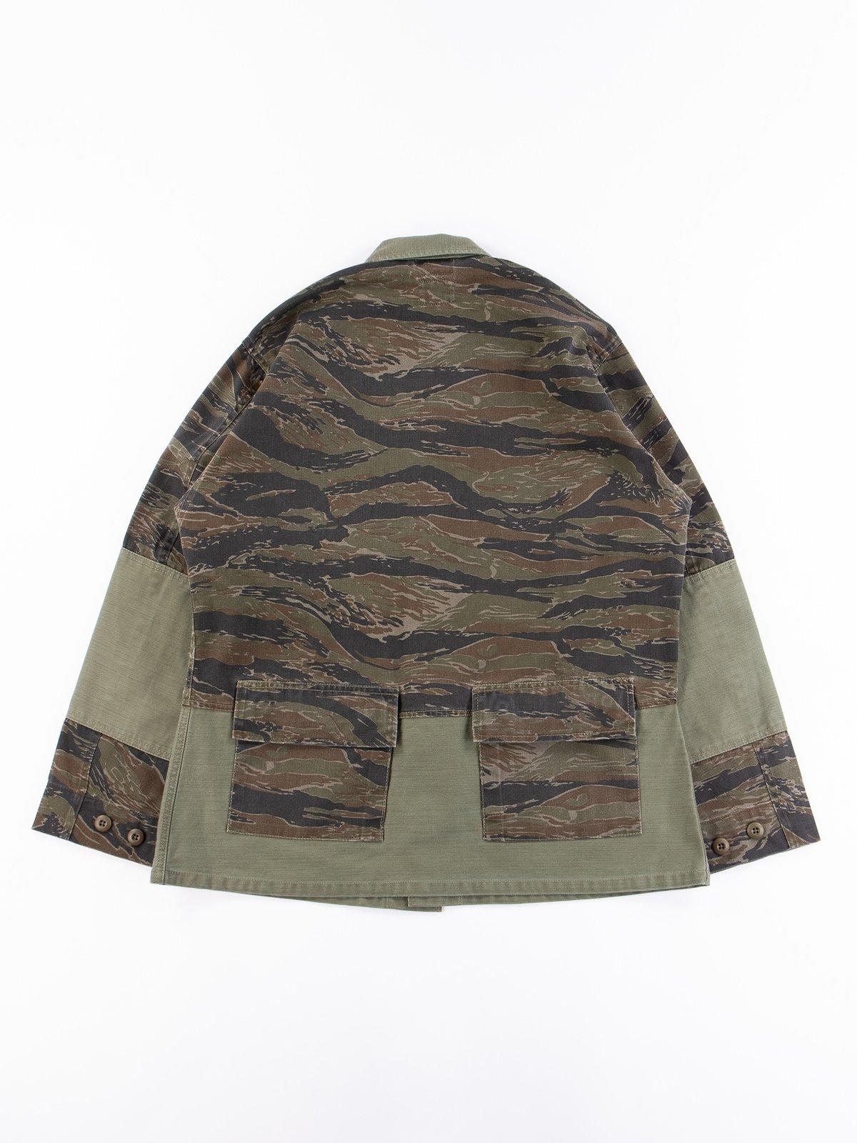 Reworks Camo/Olive Field Jacket - Image 6