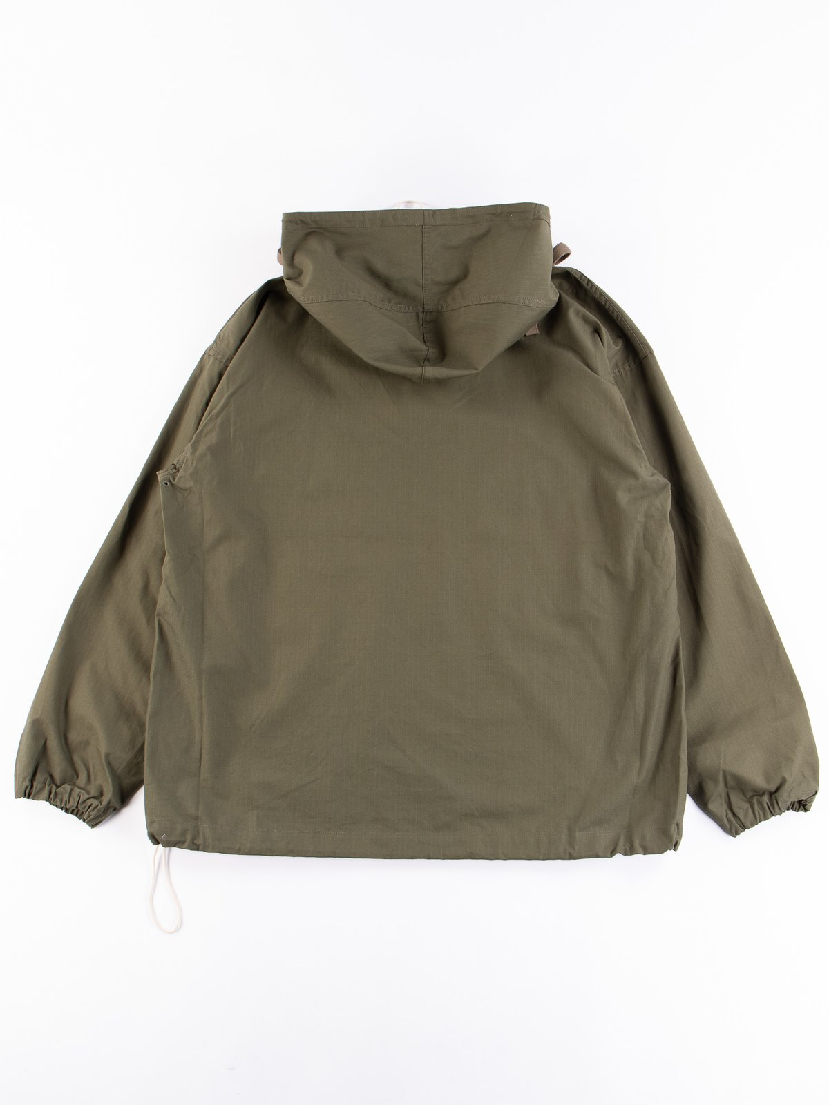 Olive Army Ripstop Salvage Parka - Image 6