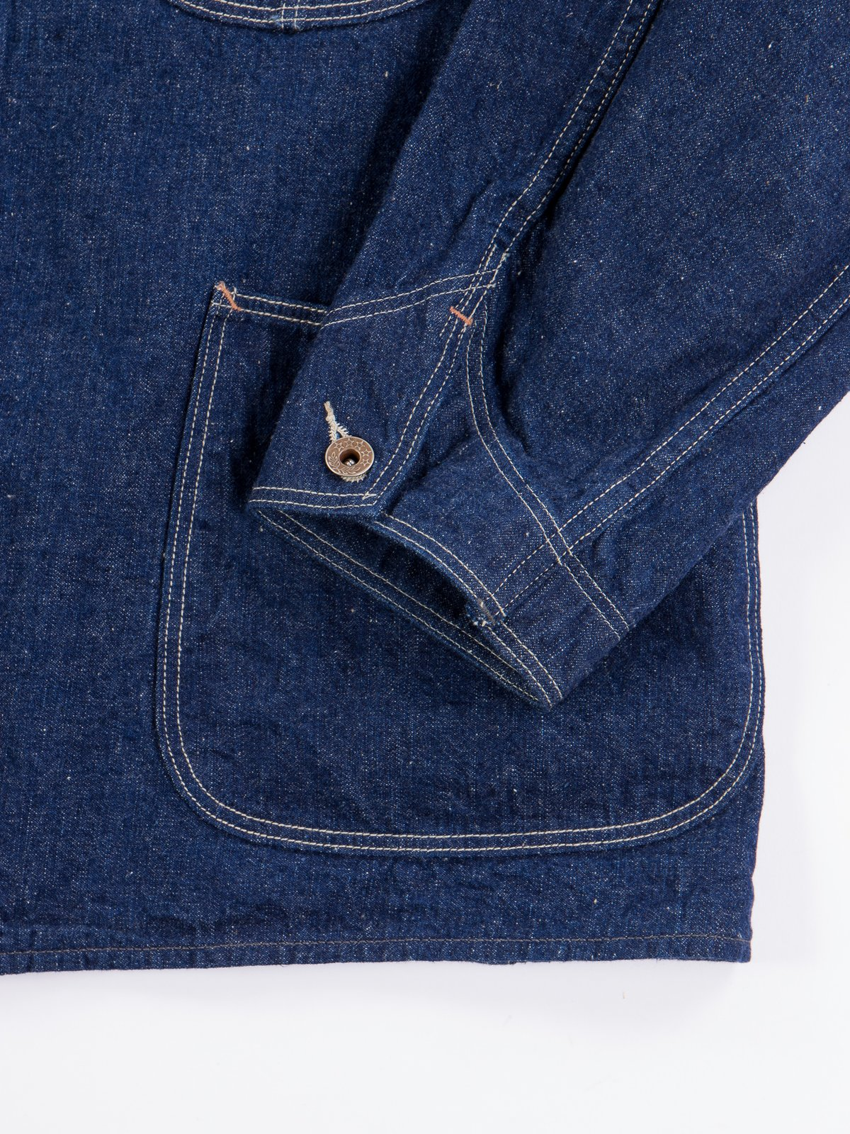 One Wash Denim 40's Coverall - Image 6