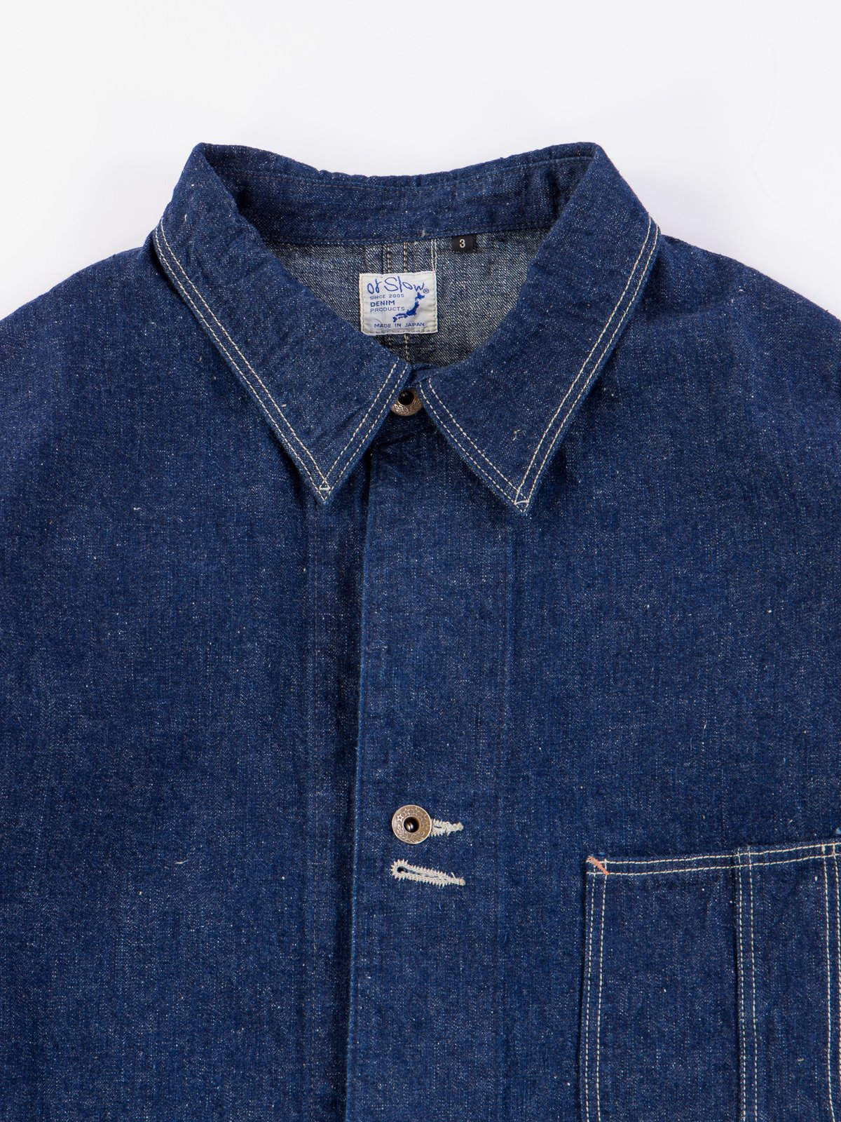 One Wash Denim 40's Coverall - Image 4
