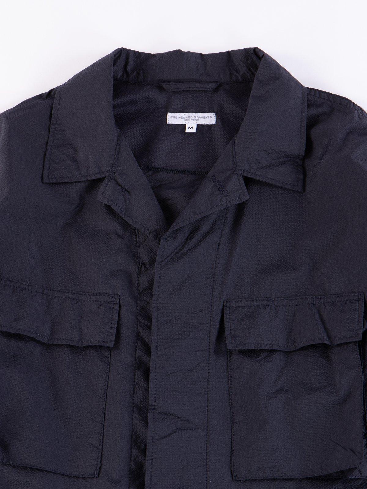 Dark Navy Nylon Micro Ripstop BDU Jacket - Image 3