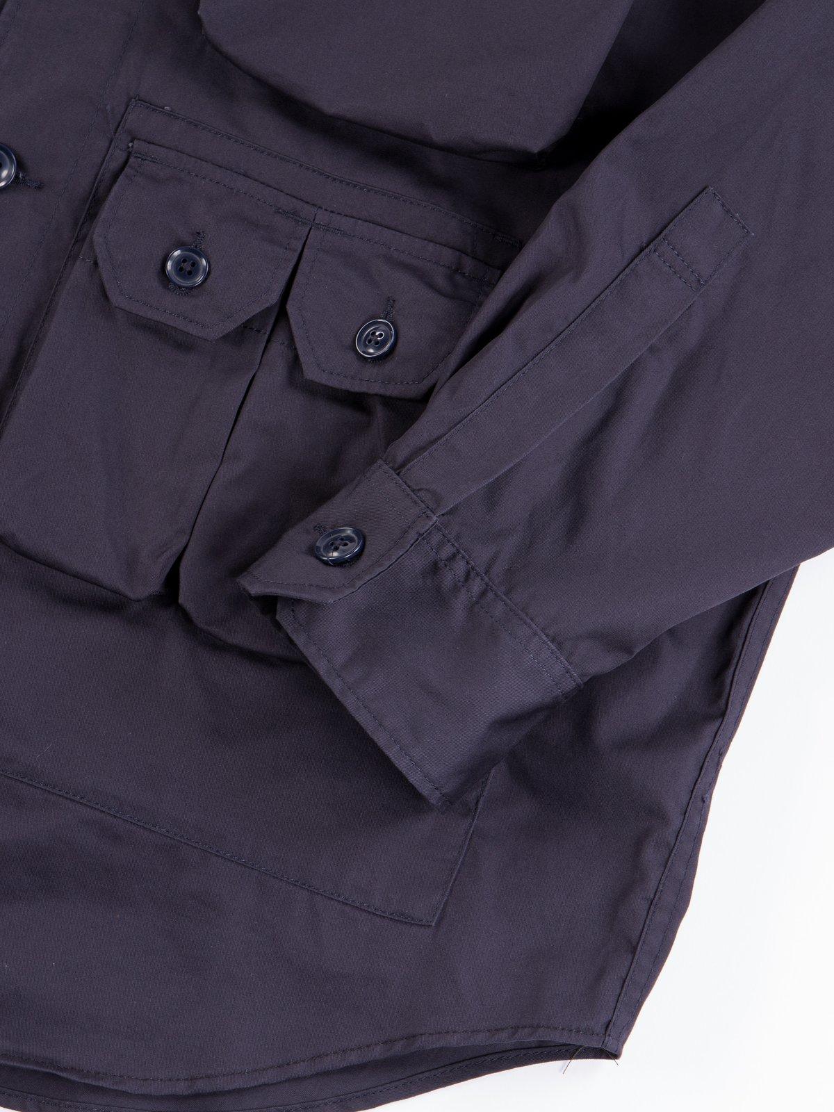 Dark Navy Highcount Twill Explorer Shirt Jacket - Image 6