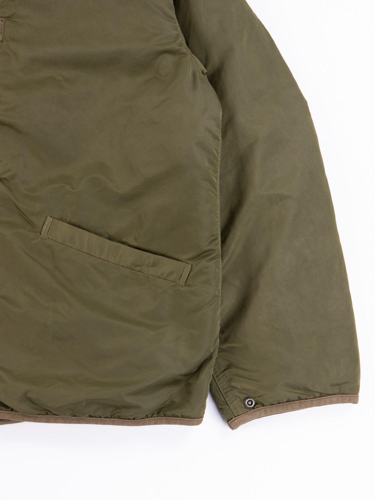 Olive Iris Liner Jacket - Image 3