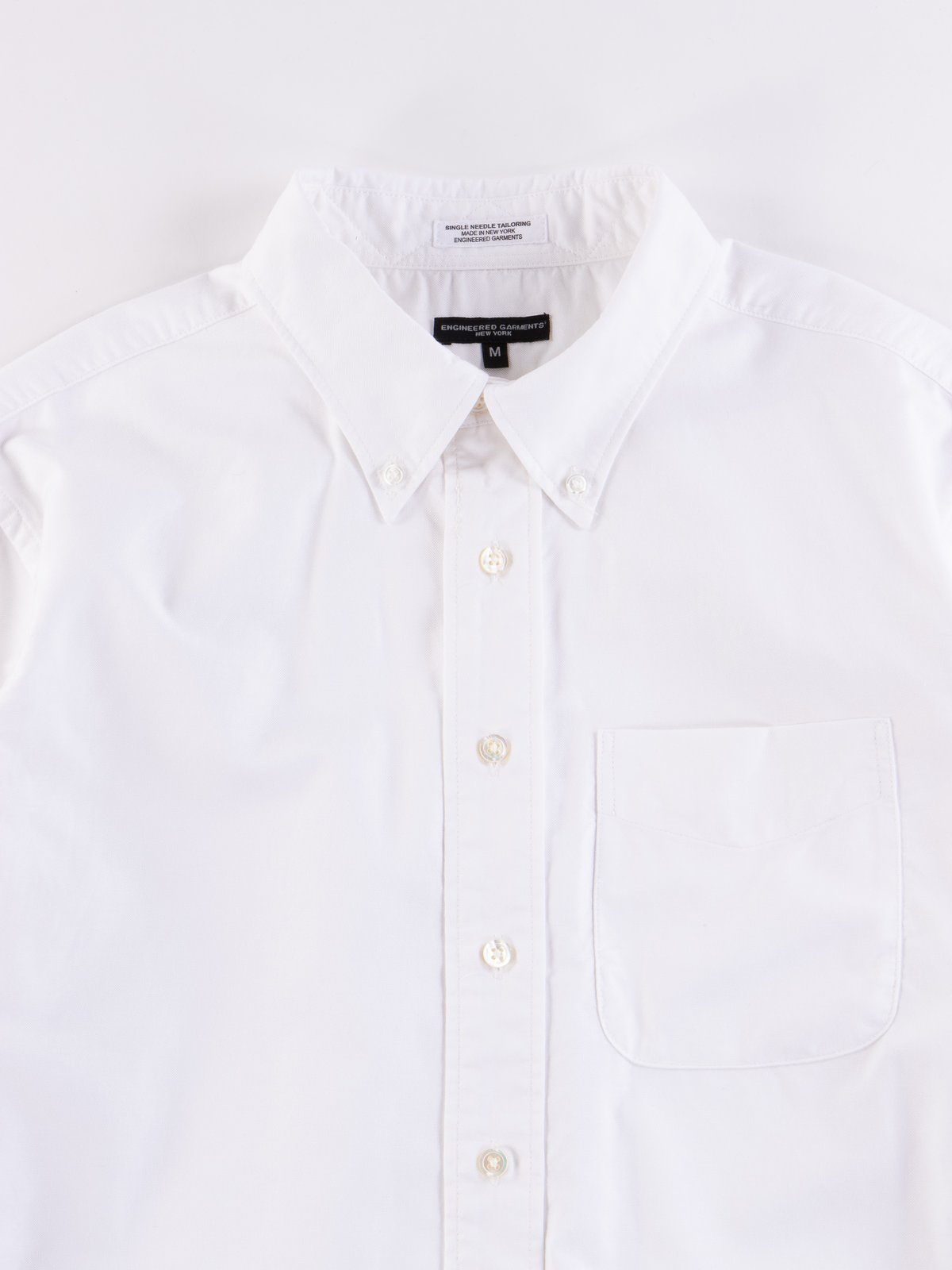White Cotton Oxford 19th Century BD Shirt - Image 3