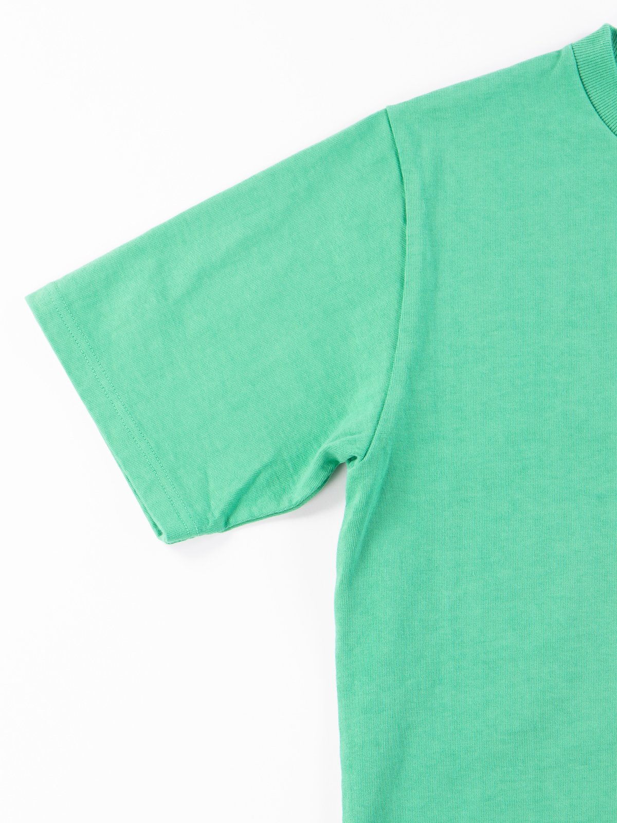 Kelly Green Dotsume Pocket T–Shirt - Image 4