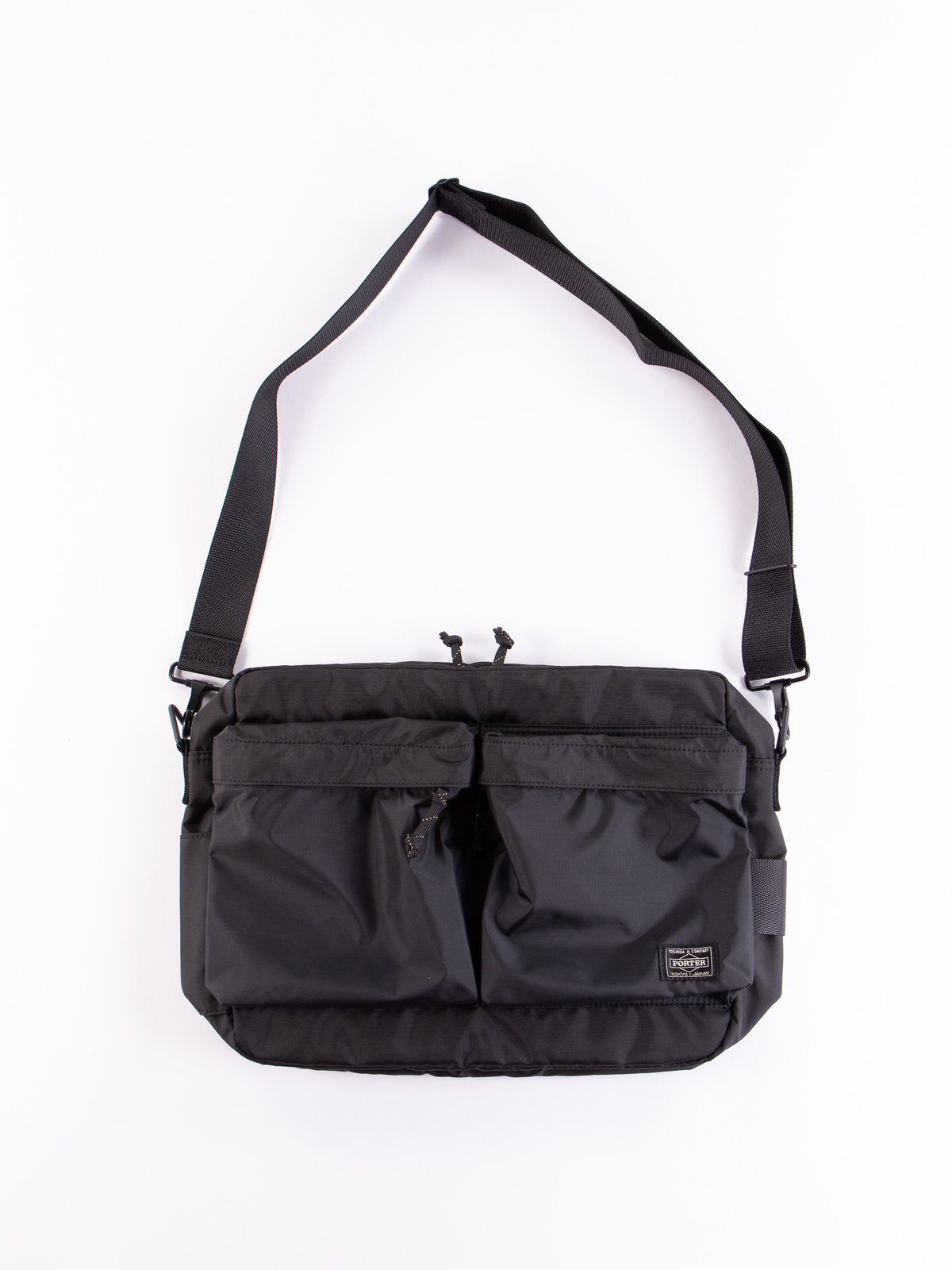 Black Medium Force Shoulder Bag - Image 1