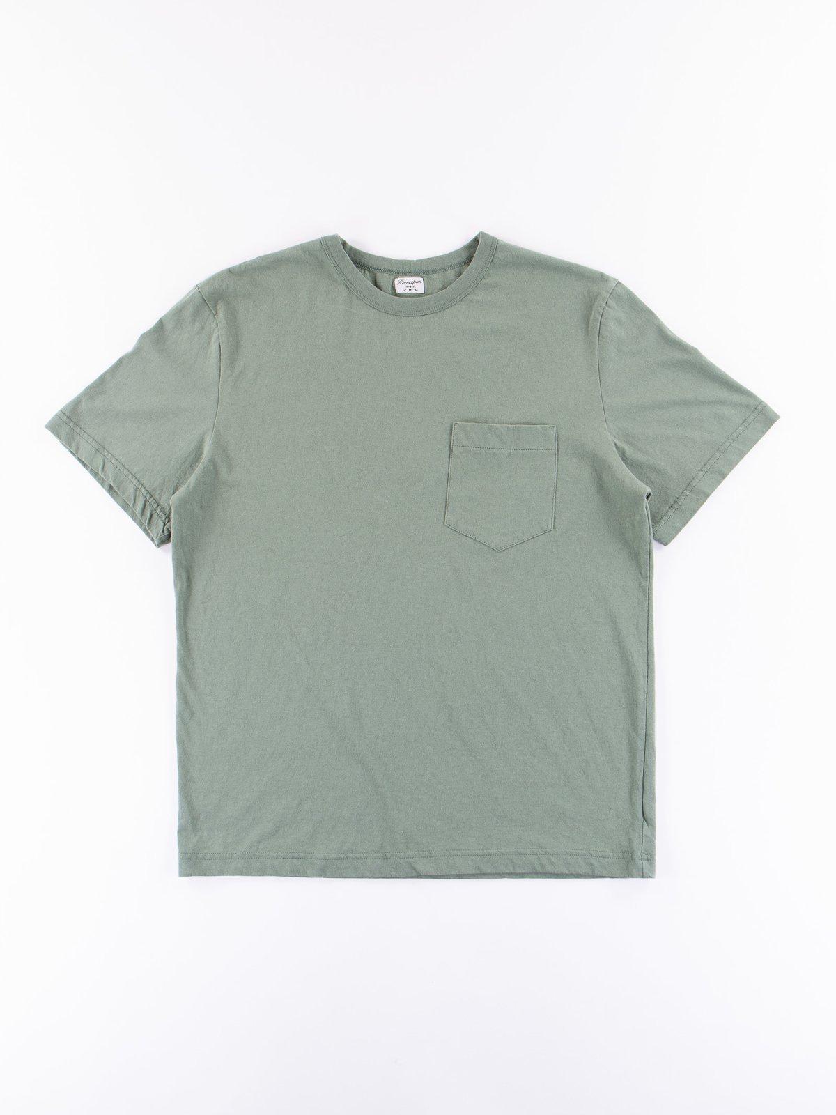 Green Dad's Pocket Tee - Image 1