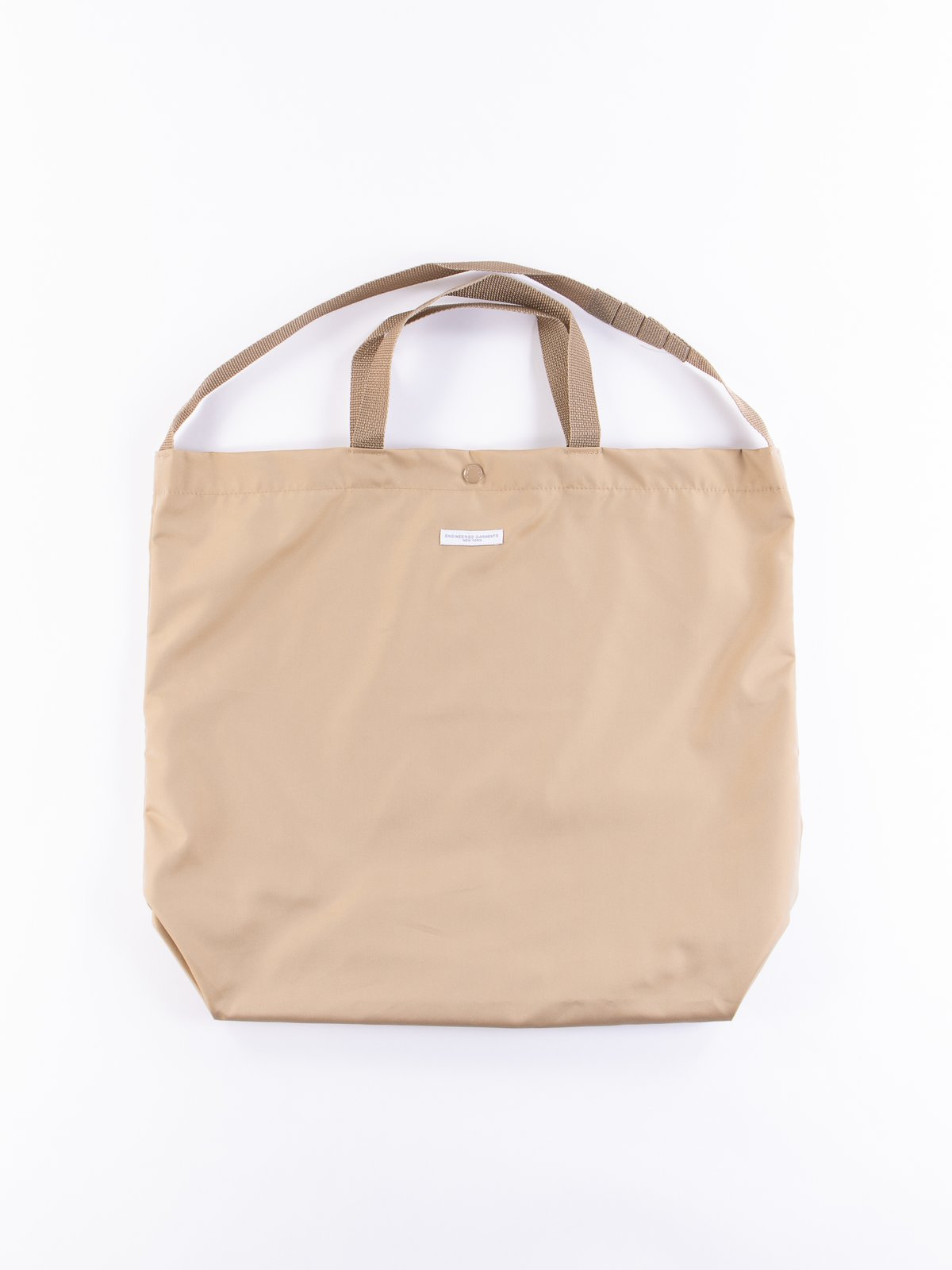 Khaki PC Iridescent Twill Carry All Tote - Image 1