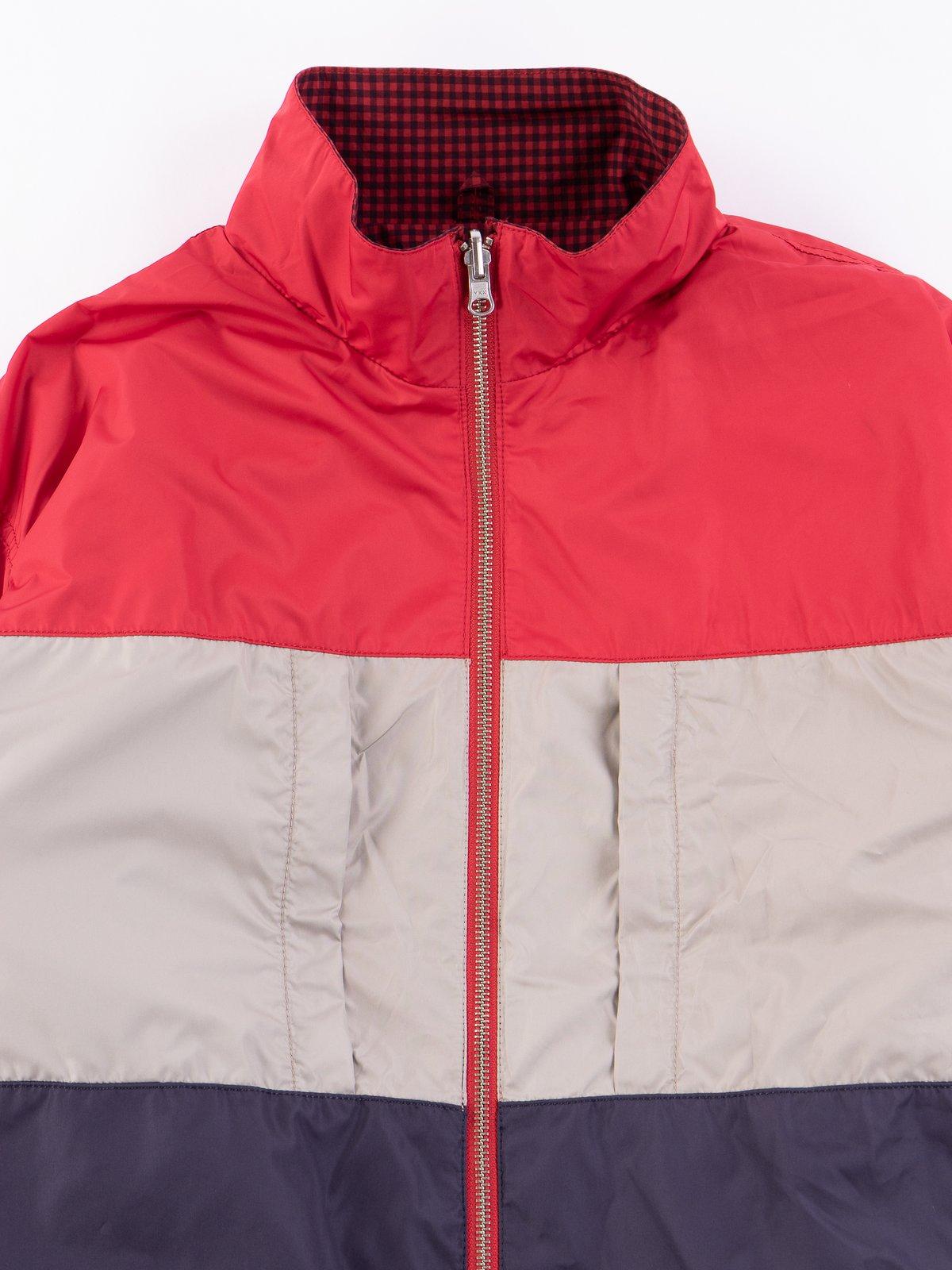Red Gingham Reversible Jacket - Image 7