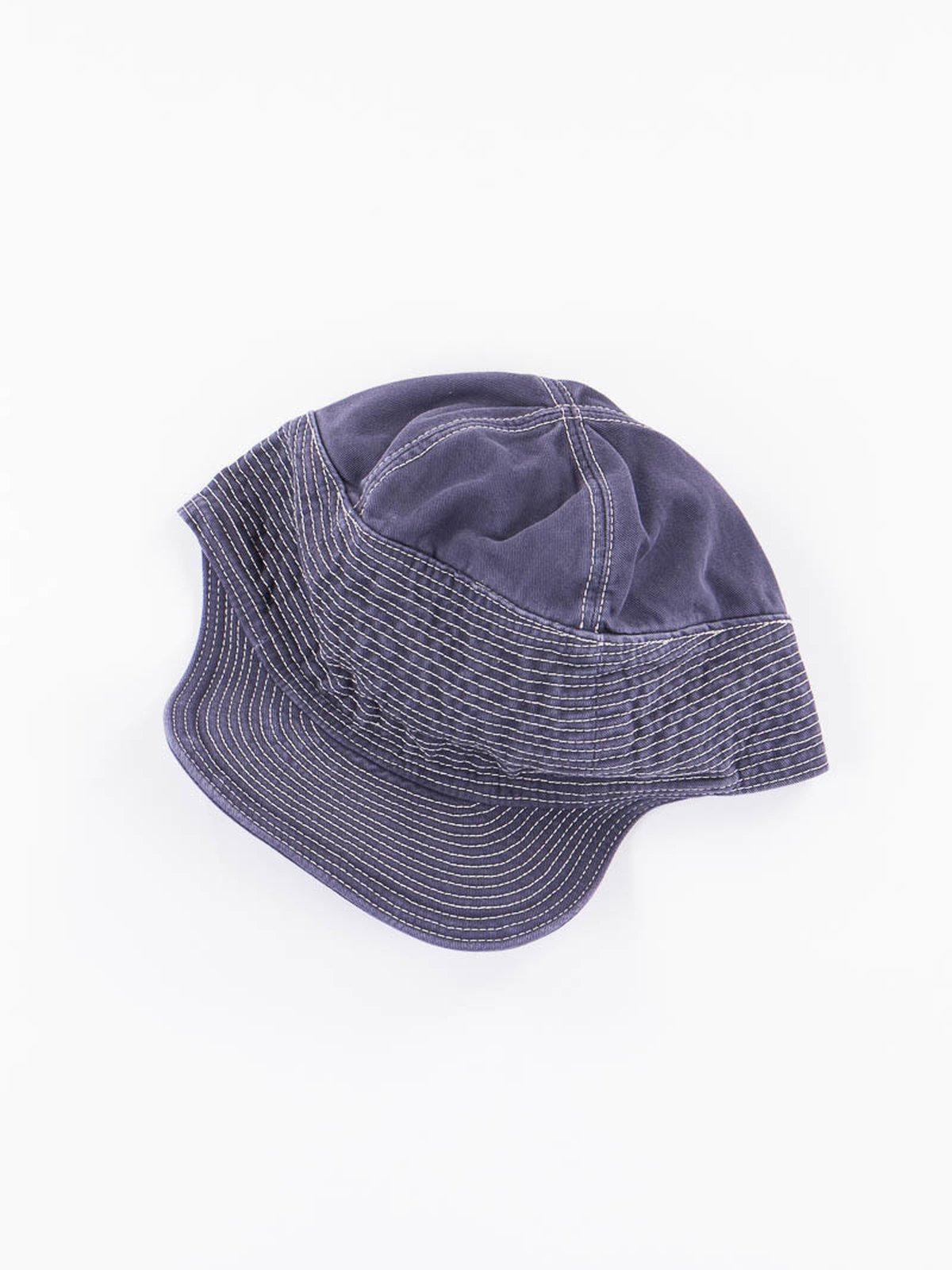 Navy Twill Old Man And The Sea Cap - Image 1