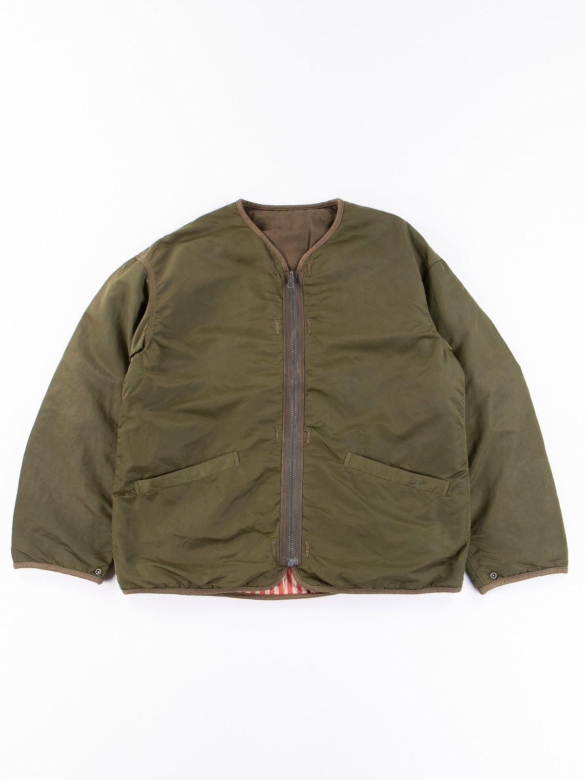 Olive Iris Liner Jacket - Image 1