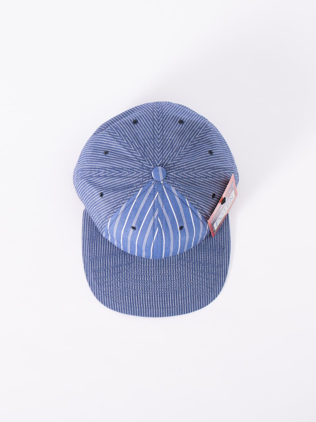 BLUE JAPANESE CHAMBRAY CAP - Image 3